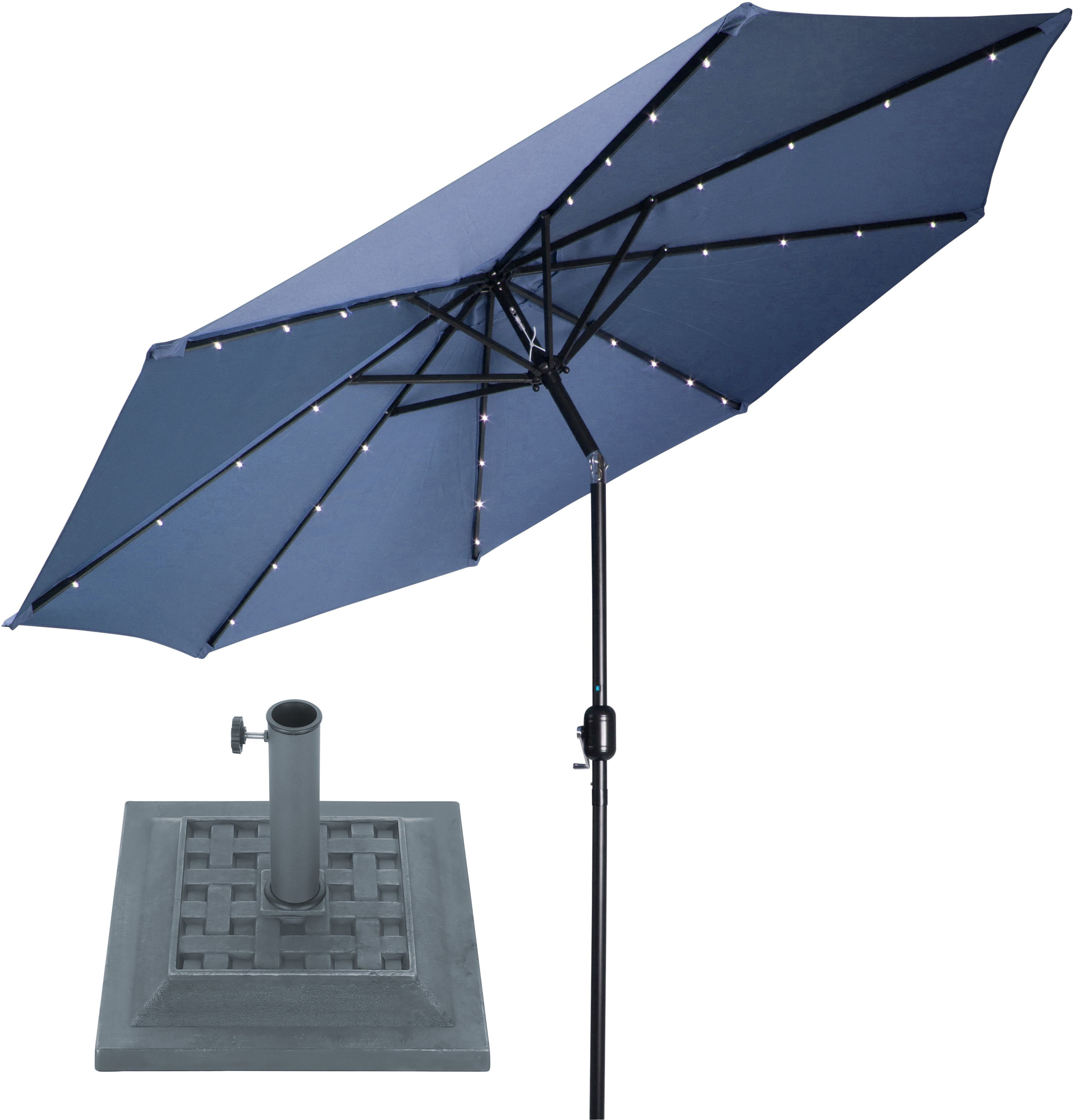 Featured Photo of Brecht Lighted Umbrellas