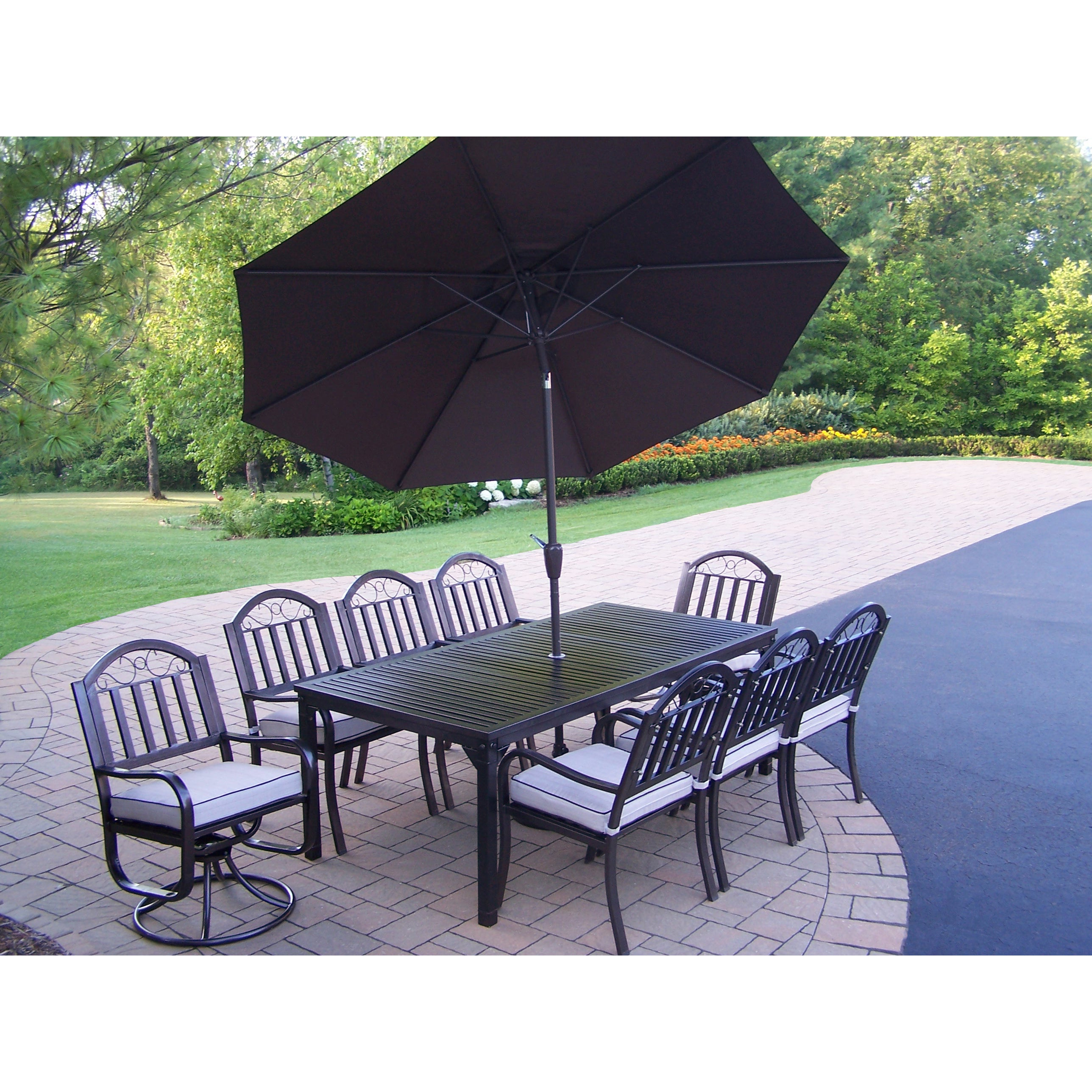 Buy Size 11 Piece Sets Outdoor Dining Sets Online At Overstock (Gallery 14 of 20)