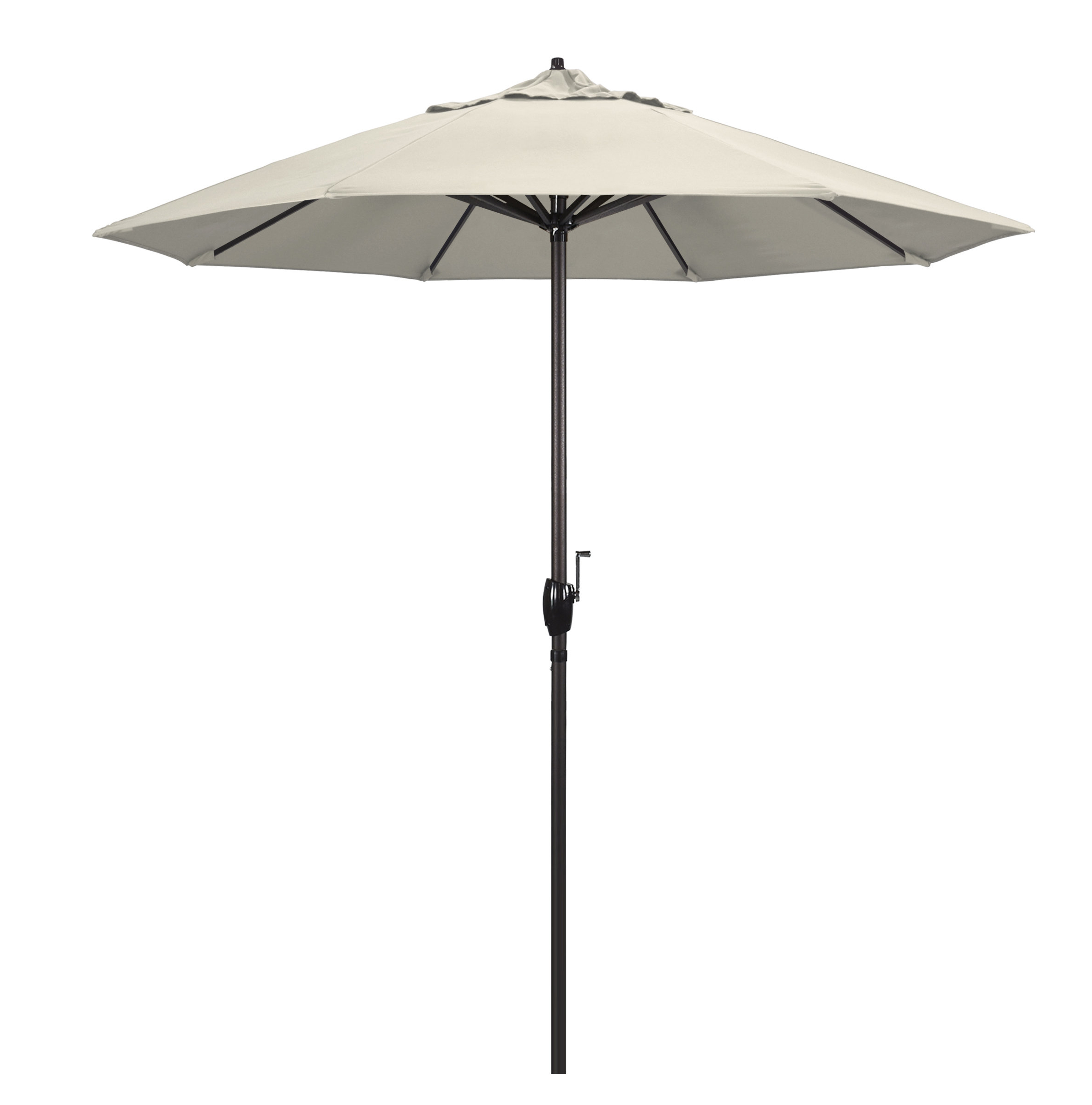 Canora Grey Nunn 8' Market Sunbrella Umbrella Within Most Popular Wiebe Auto Tilt Square Market Sunbrella Umbrellas (View 4 of 20)