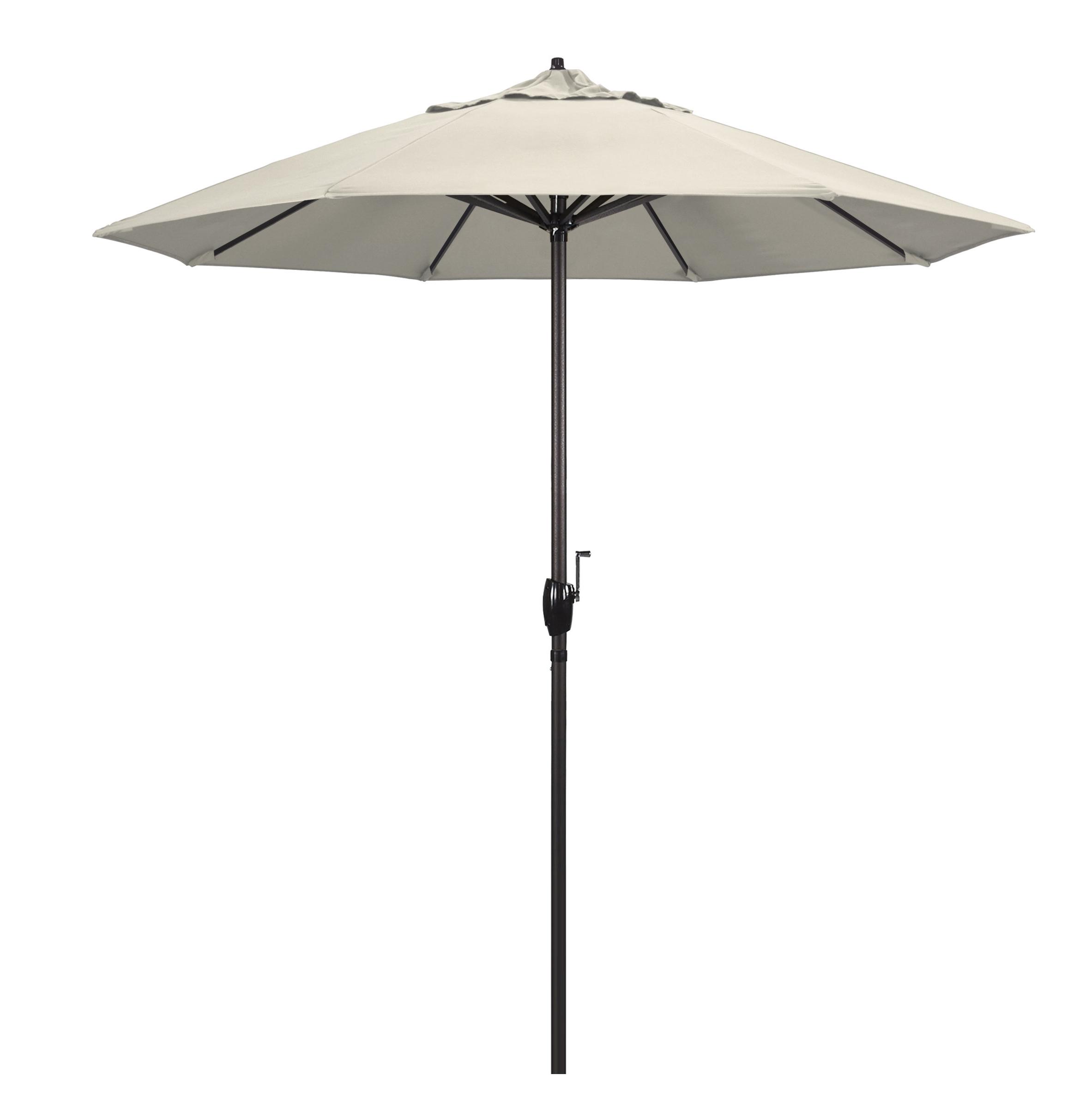 Canora Grey Nunn 8' Market Sunbrella Umbrella Within Most Popular Wiebe Auto Tilt Square Market Sunbrella Umbrellas (View 16 of 20)