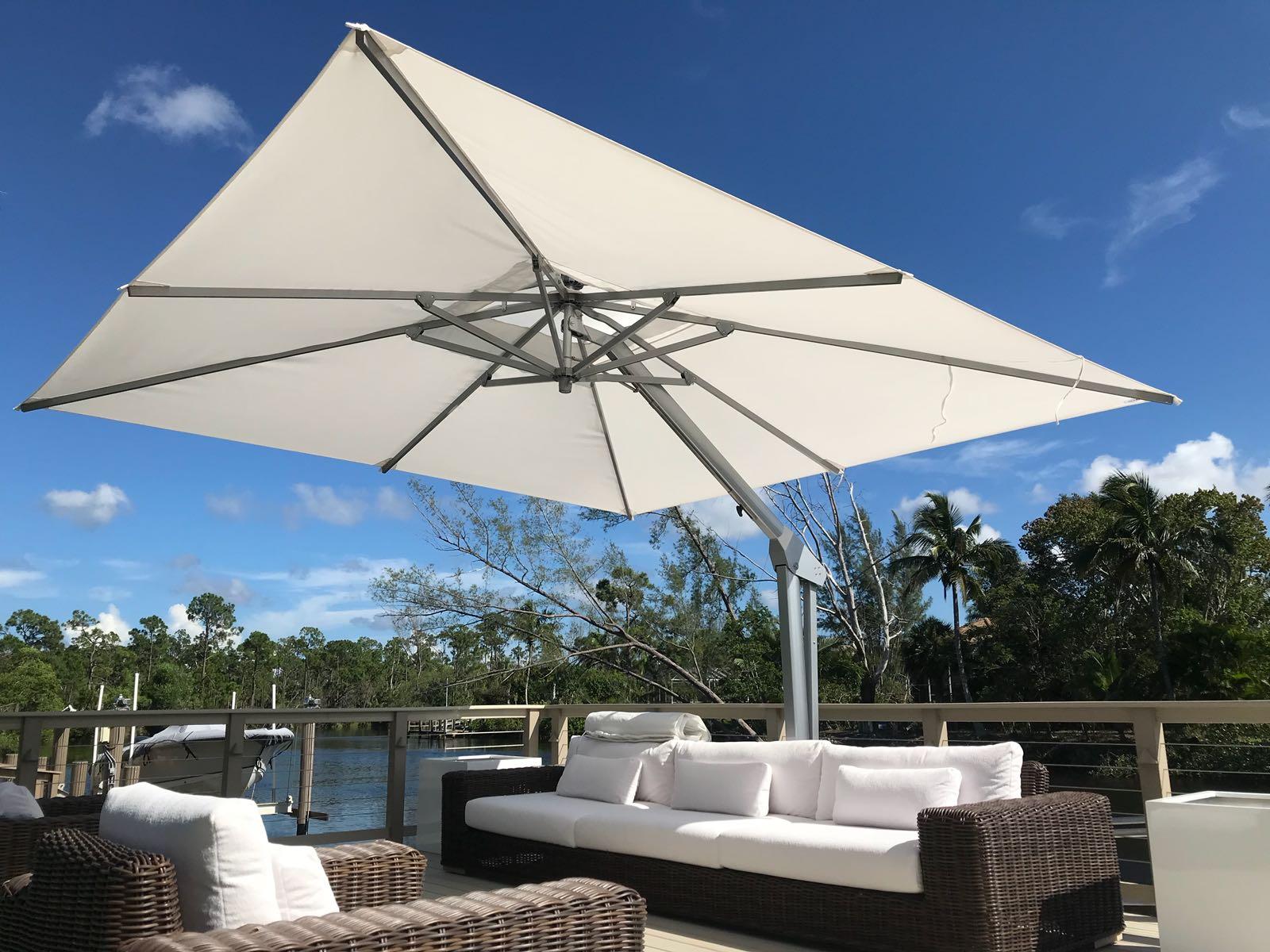 Cantilever Umbrellas With Regard To Popular Cantilever Umbrellas (View 16 of 20)