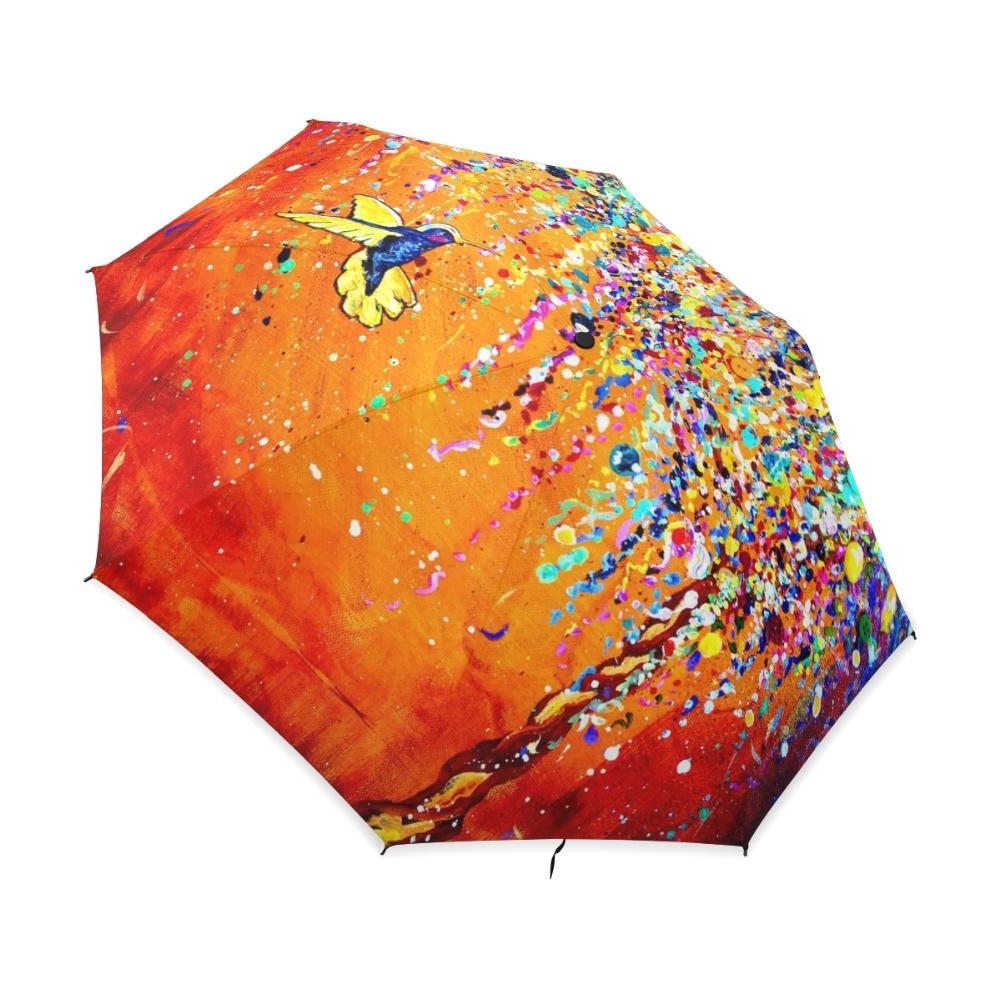 Capra Beach Umbrellas Within Latest Buy Creative Colorful Hummingbird Umbrella Anti Uv Sun Protection (View 6 of 20)