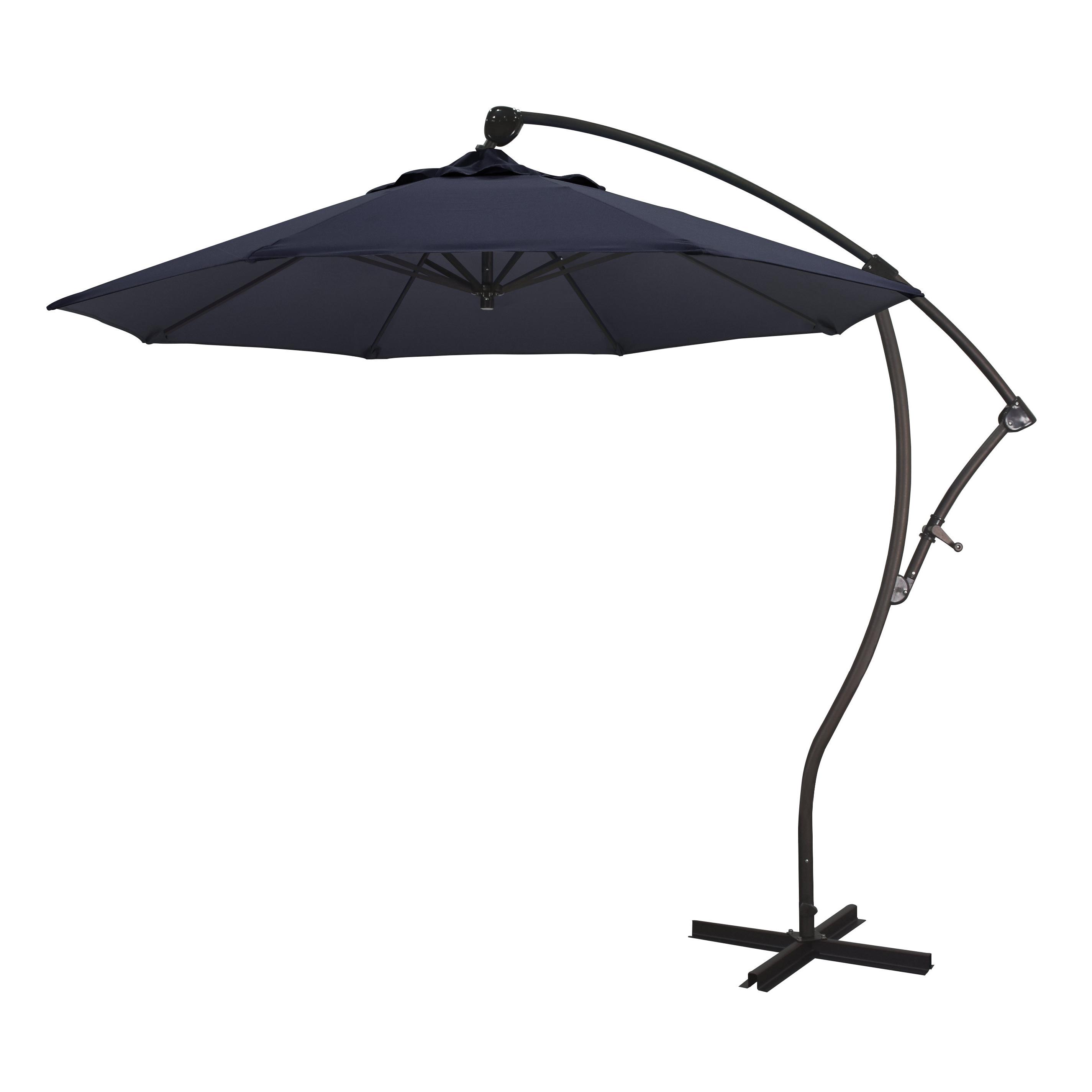 Capri 9' Cantilever Umbrella With Regard To Current Trotman Cantilever Umbrellas (View 5 of 20)