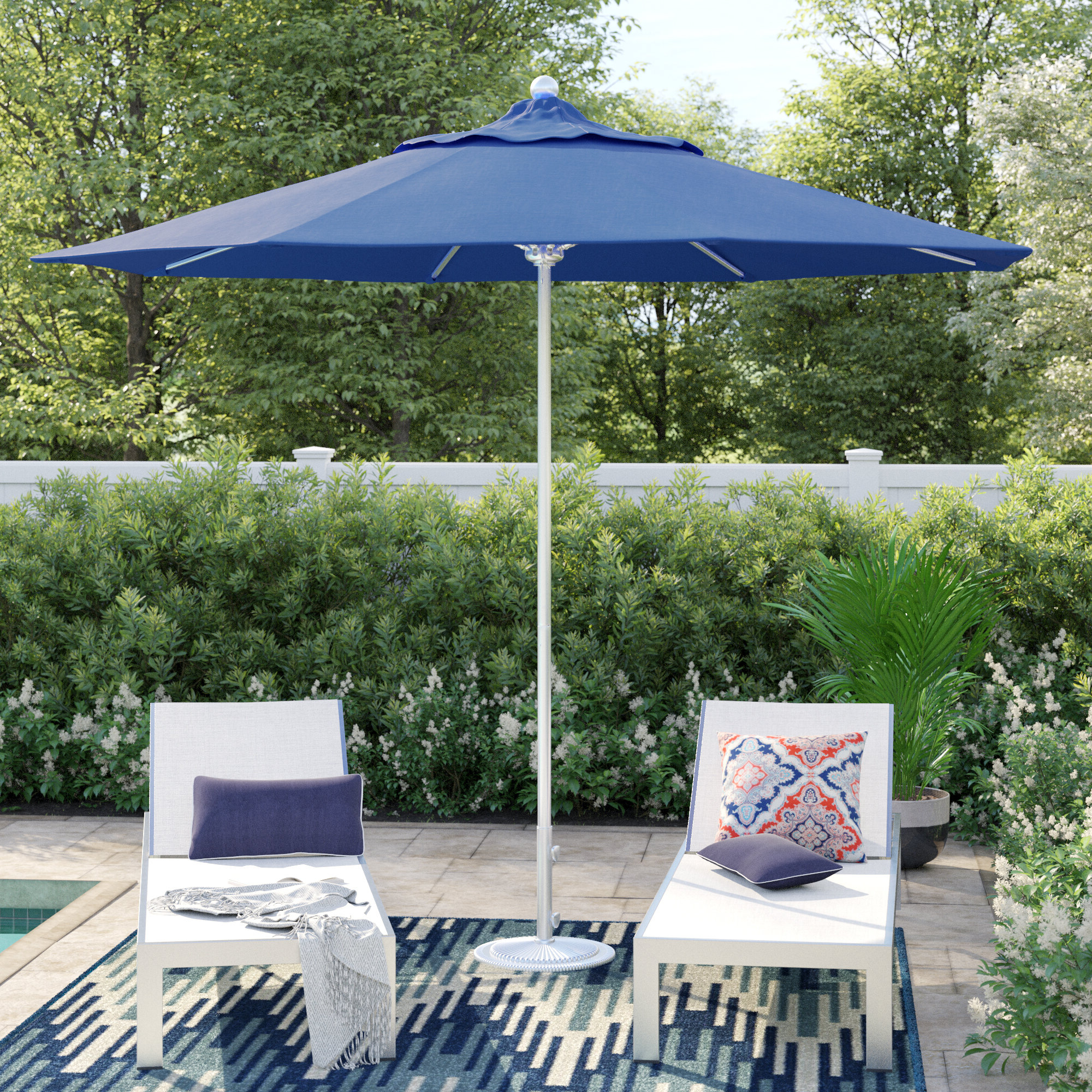 Caravelle 9' Market Umbrella Throughout Best And Newest Carina Market Umbrellas (View 5 of 20)