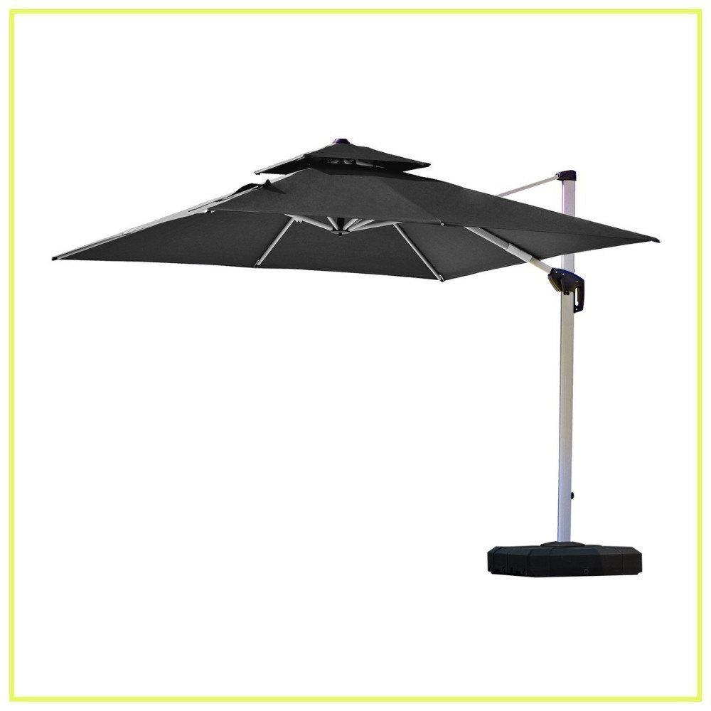 Caravelle Market Sunbrella Umbrellas Regarding Favorite 10 Best Cantilever Umbrellas In 2019: A Complete Guide And Reviews (View 8 of 20)