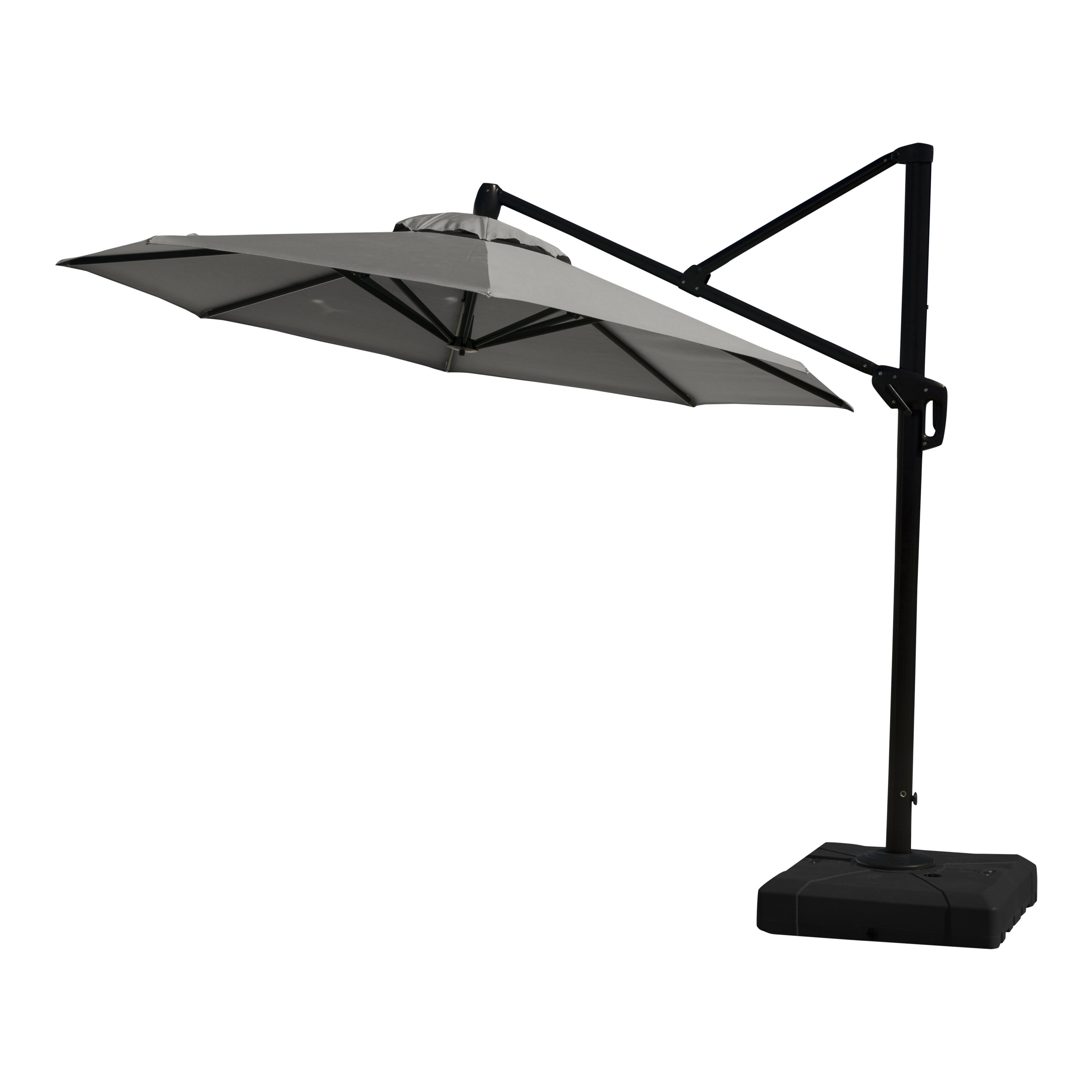 Ceylon 10' Cantilever Sunbrella Umbrella With Regard To Best And Newest Gribble 3Cantilever Umbrellas (View 7 of 20)