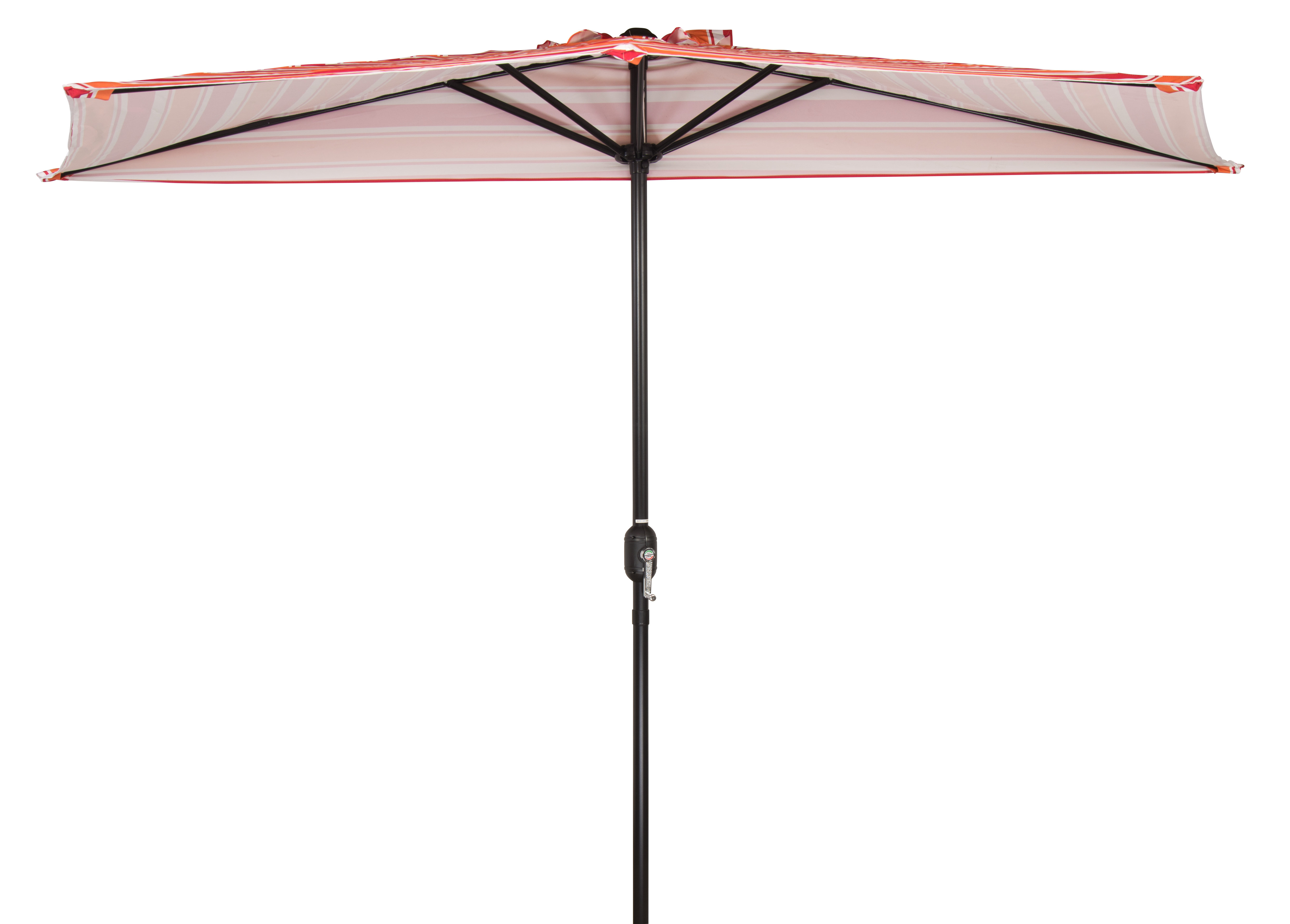 Colburn Half Market Umbrellas Pertaining To Widely Used Patio Half 9' X  (View 9 of 20)