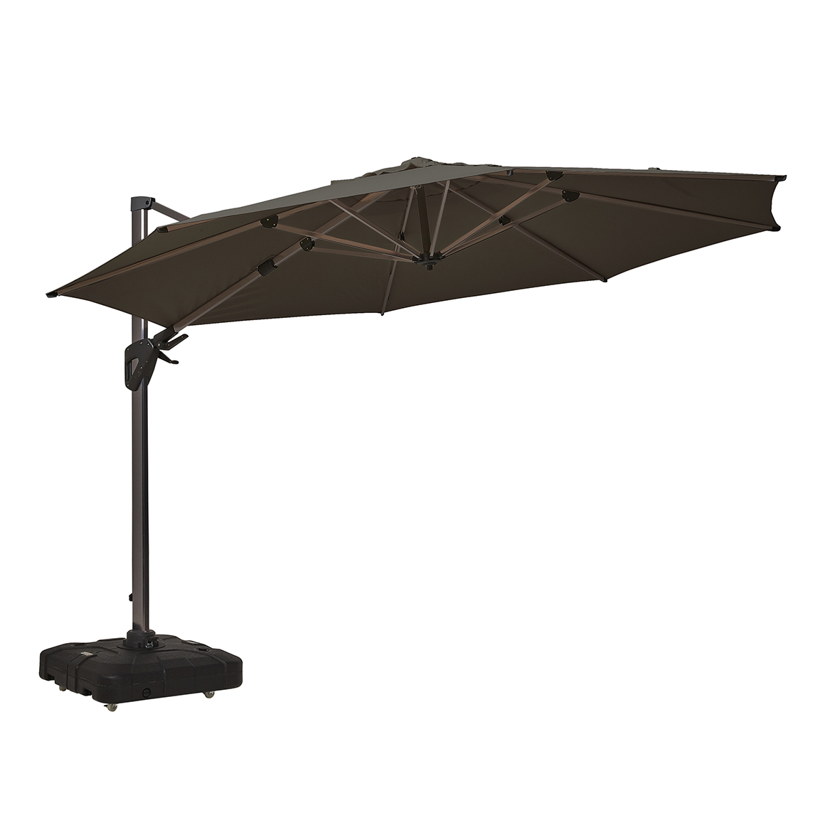 Coolaroo In Most Current Coolaroo Cantilever Umbrellas (View 9 of 20)