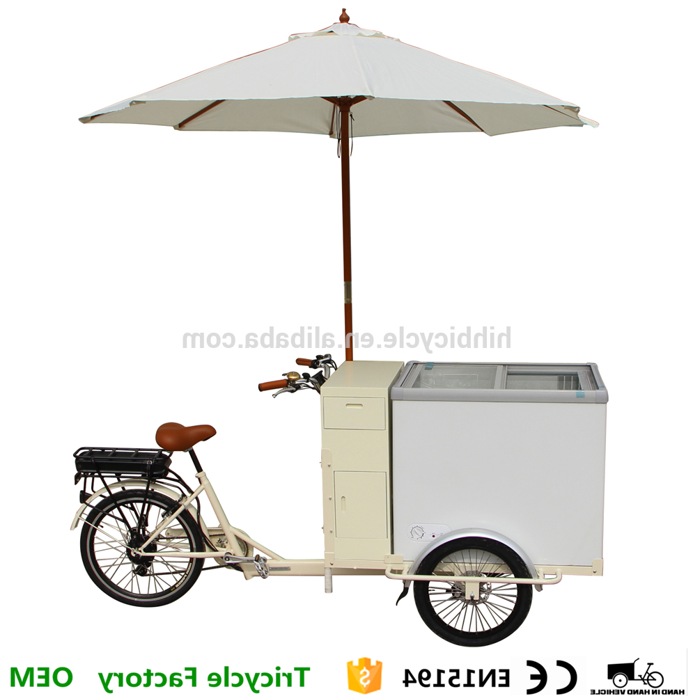 Cooler Cart Umbrella Ice Cream Bike Tricycle For Sale – Buy Cooler Cart,tricycle For Sale,ice Cream Bike Tricycle For Sale Product On Alibaba Pertaining To Preferred Brame Market Umbrellas (View 17 of 20)