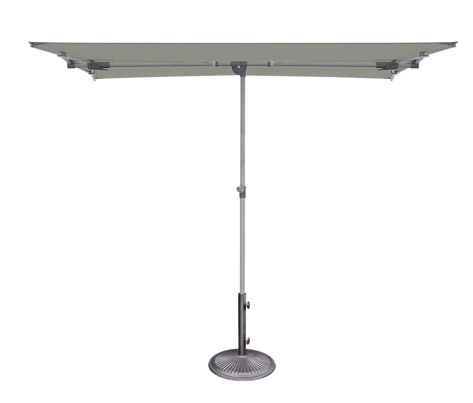Cordelia 5' X 7' Rectangular Market Umbrella With Regard To Newest Pau Rectangular Market Umbrellas (View 2 of 20)