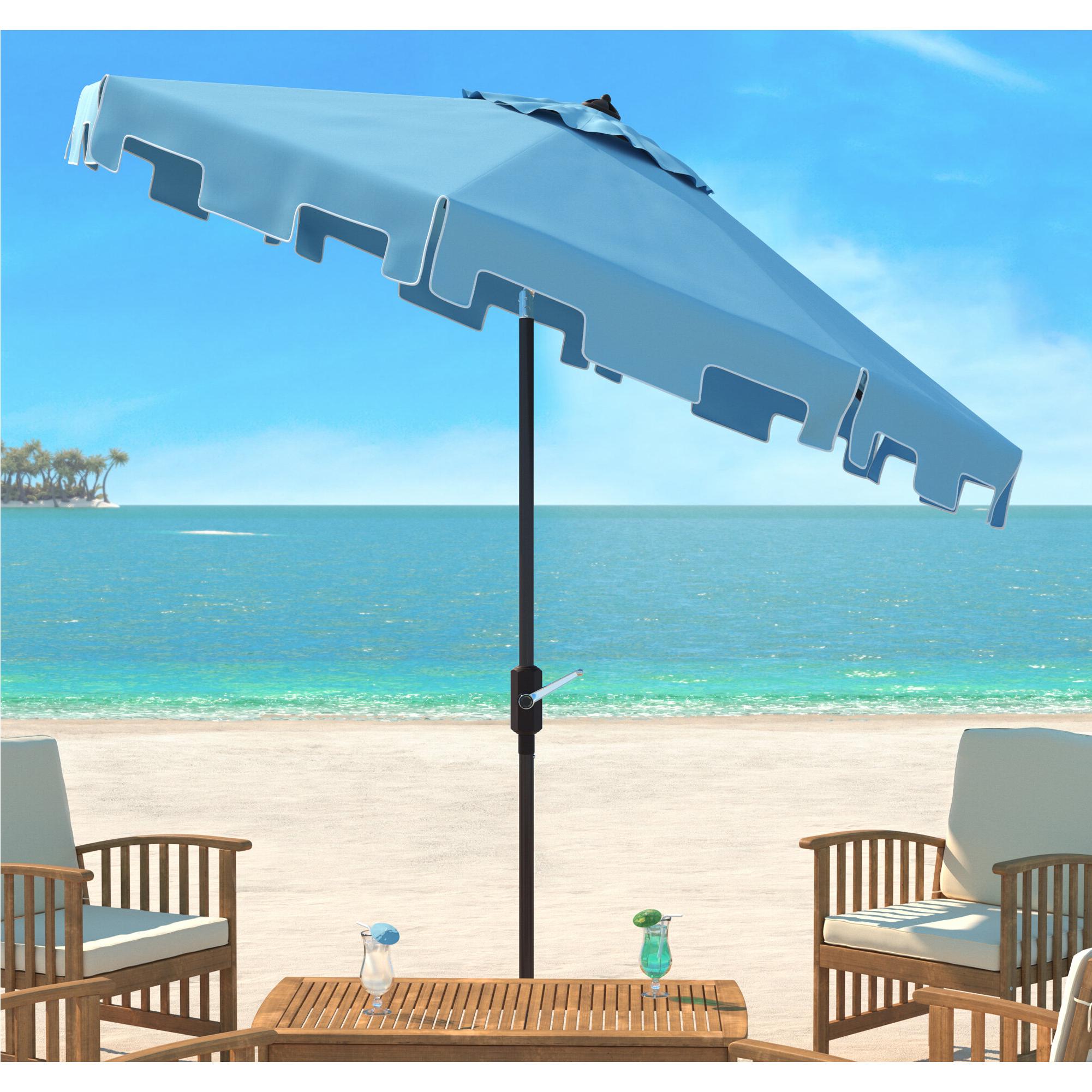 Crediton 9' Market Umbrella Pertaining To Most Recent Lizarraga Market Umbrellas (View 14 of 20)