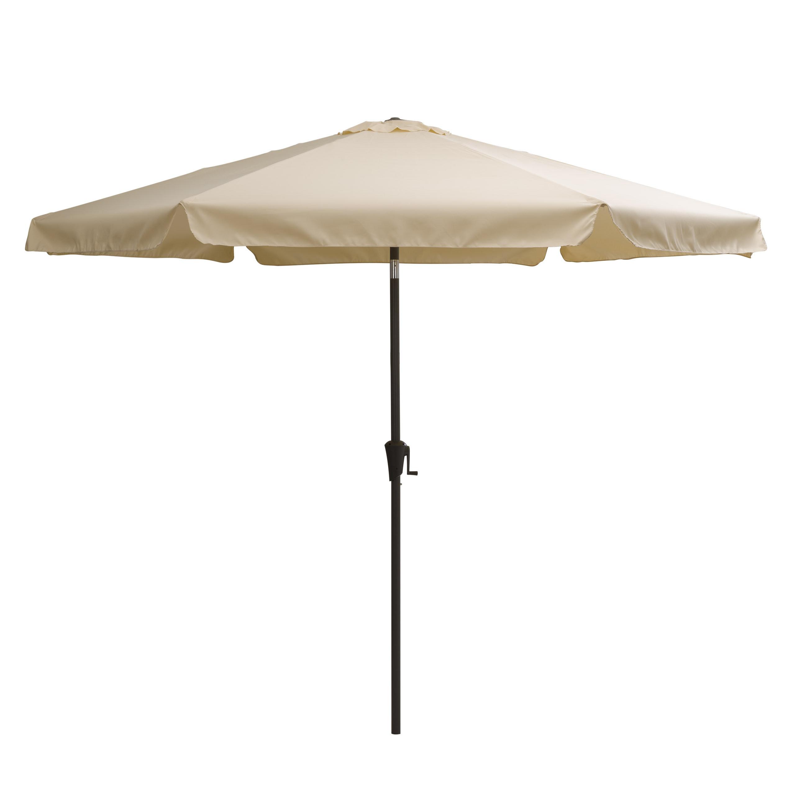 Crowborough 10' Market Umbrella Inside Well Known Isom Market Umbrellas (View 3 of 20)