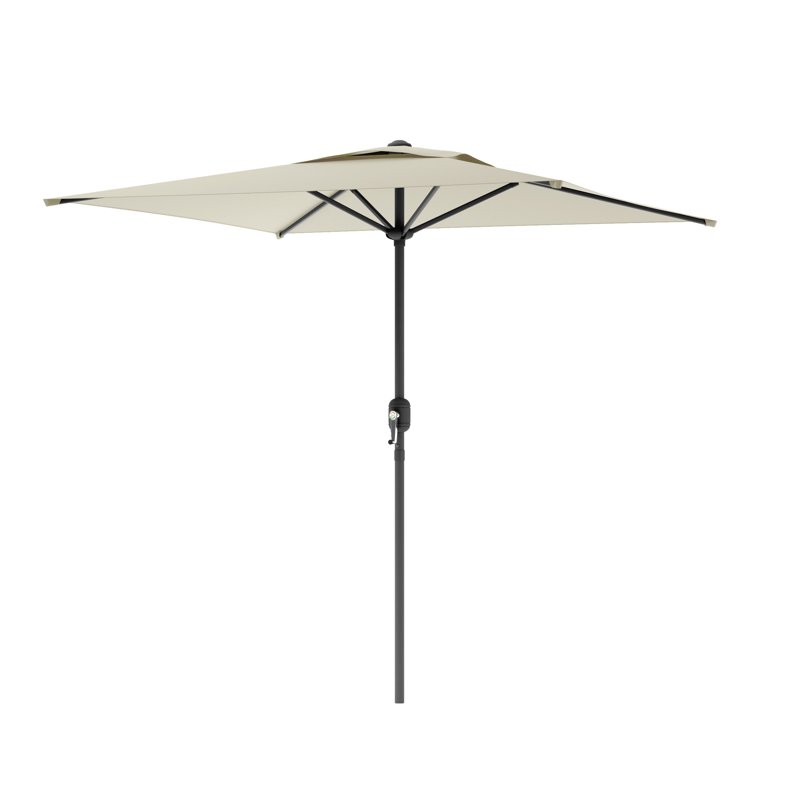 Crowborough 9' Square Market Umbrella For Well Known Crowborough Square Market Umbrellas (View 3 of 20)