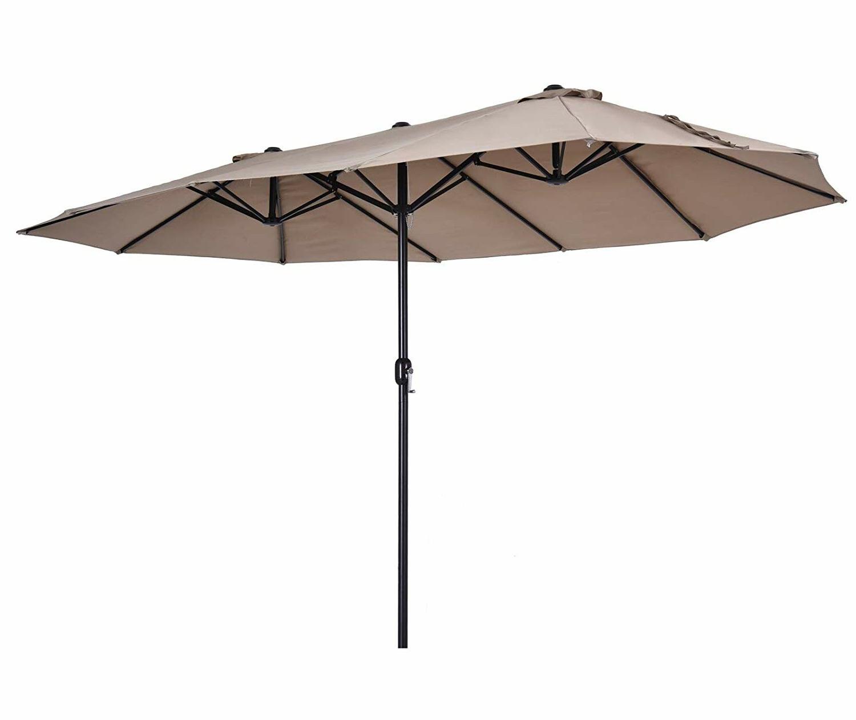 Crowborough Market Umbrellas Regarding Most Popular Solihull 9 X 15 Rectangular Market Umbrella (View 11 of 20)