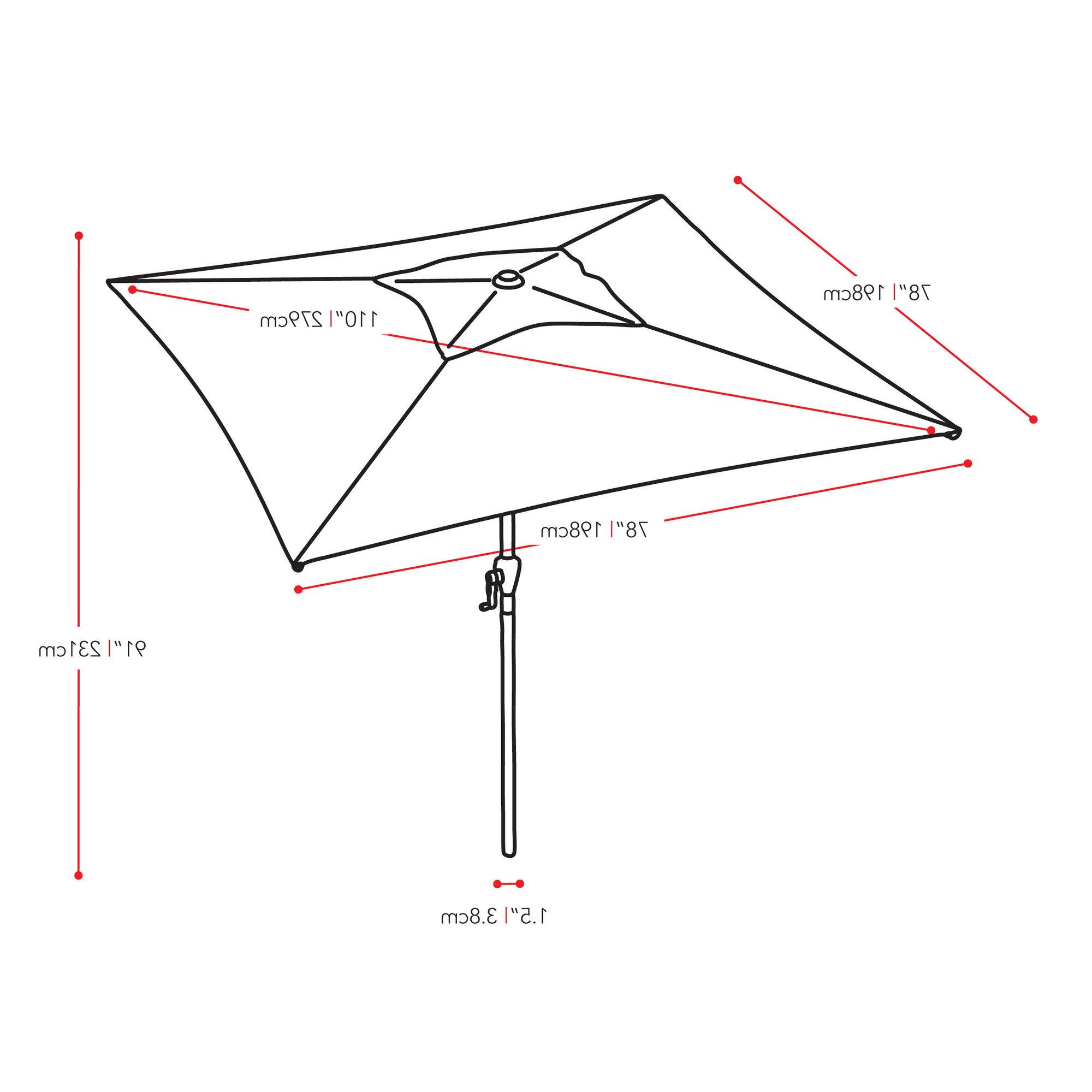 Crowborough Square Market Umbrellas Intended For Famous Details About Freeport Park Crowborough  (View 7 of 20)