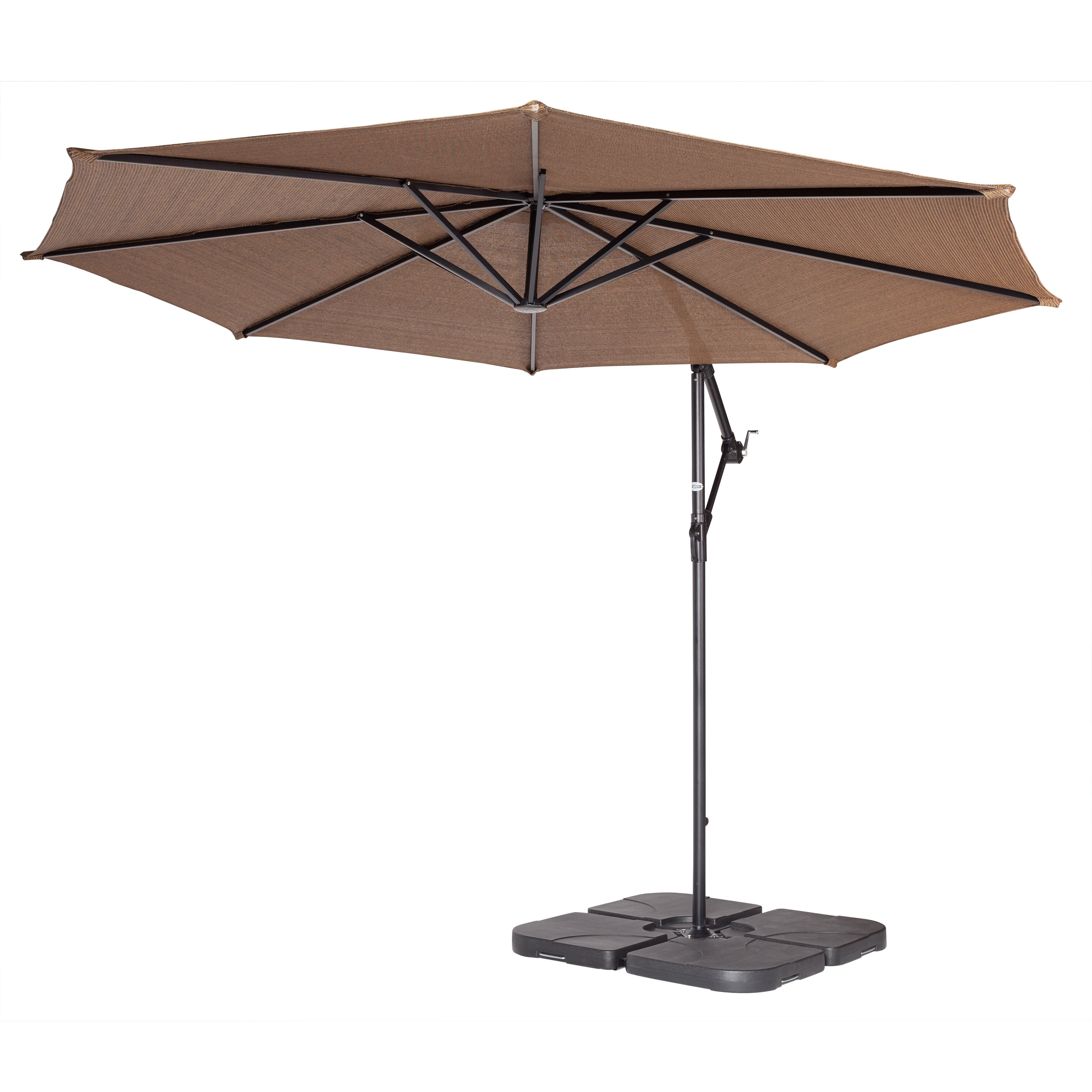 Current Coolaroo Coolaroo 10' Cantilever Umbrella Intended For Coolaroo Cantilever Umbrellas (View 11 of 20)