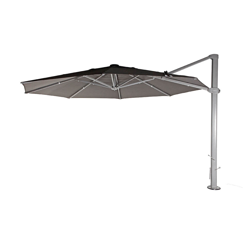 Current Maidste Square Cantilever Umbrellas Pertaining To Shelta Asta 4Mx3M Rectangle Cantilever Umbrella (View 15 of 20)