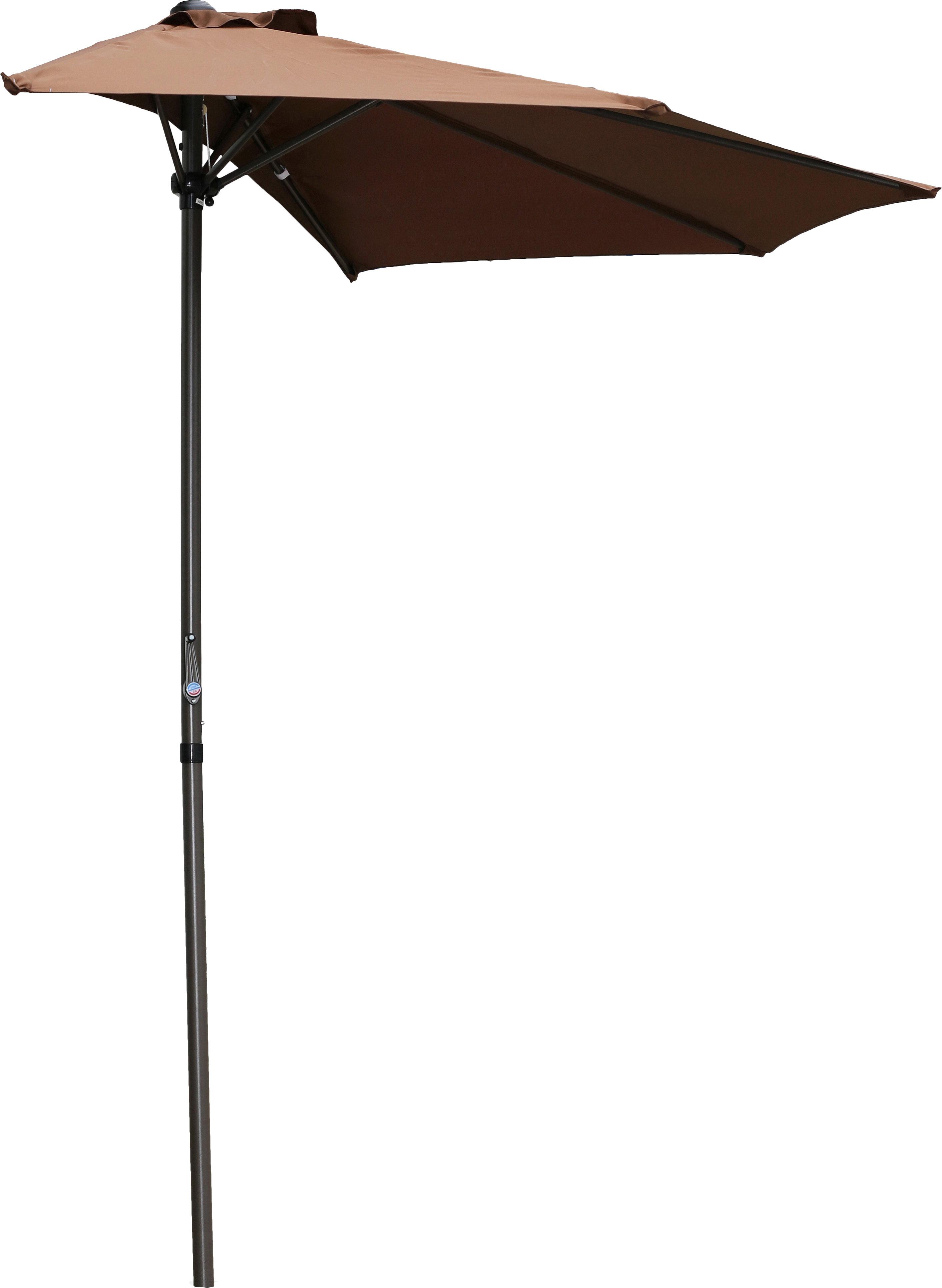Dade City North 9' Half Market Umbrella With Most Recently Released Norah Rectangular Market Umbrellas (View 20 of 20)