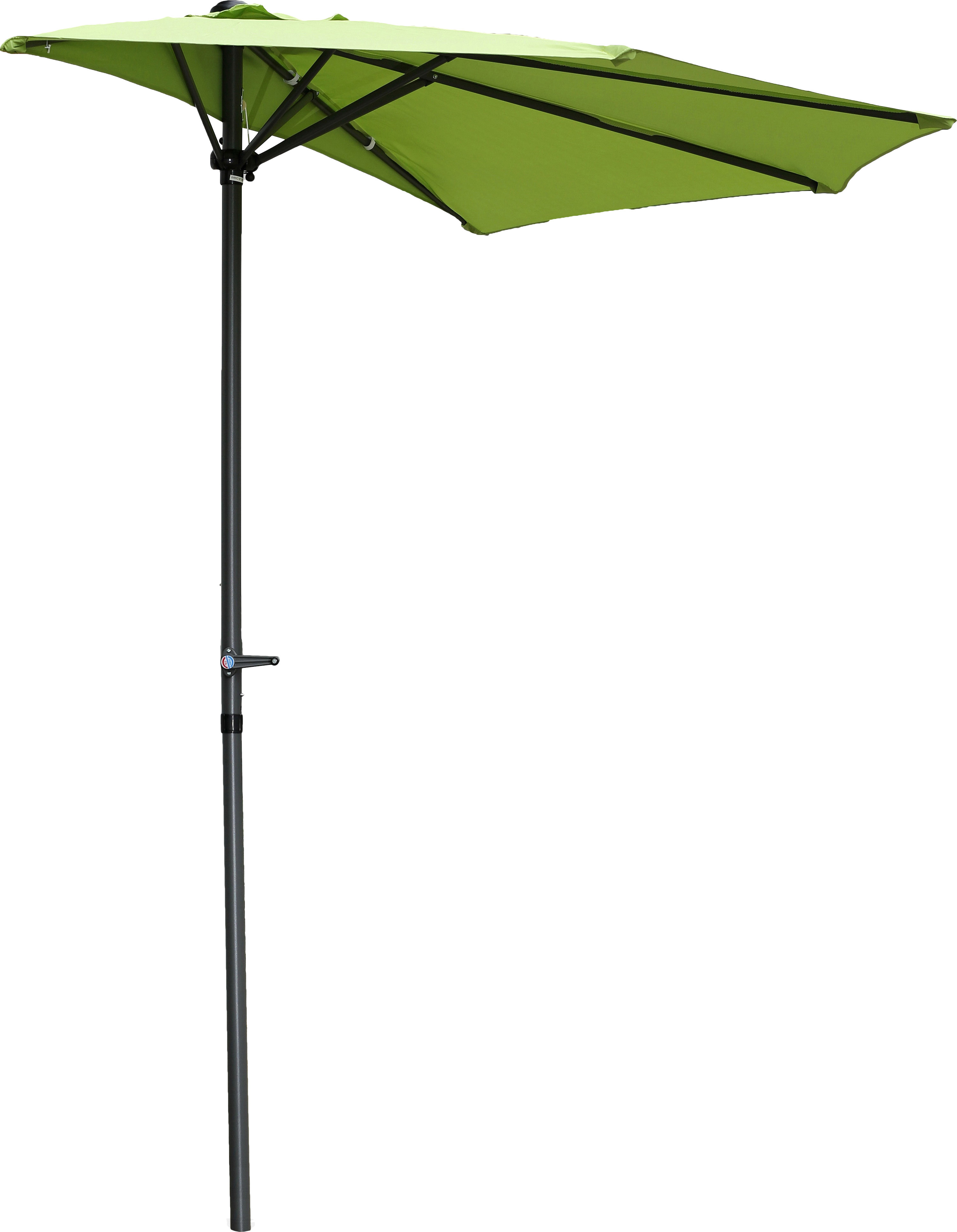 Dade City North 9' Half Market Umbrella With Regard To Current Hyperion Beach Umbrellas (View 20 of 20)