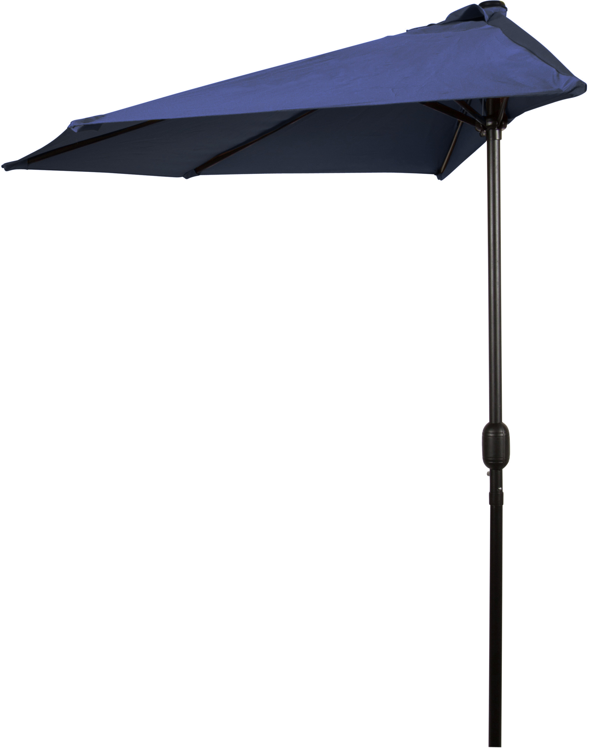 Dade City North Half Market Umbrellas For Trendy Braham 9' Half Market Umbrella (View 6 of 20)