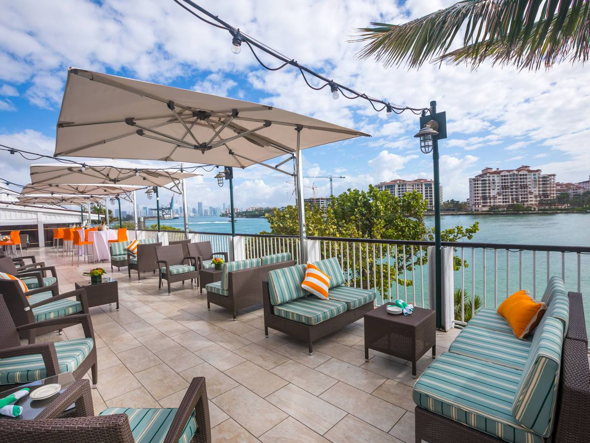 Dade City North Half Market Umbrellas Inside Well Liked The 15 Best Waterfront Restaurants In Miami – Eater Miami (View 9 of 20)
