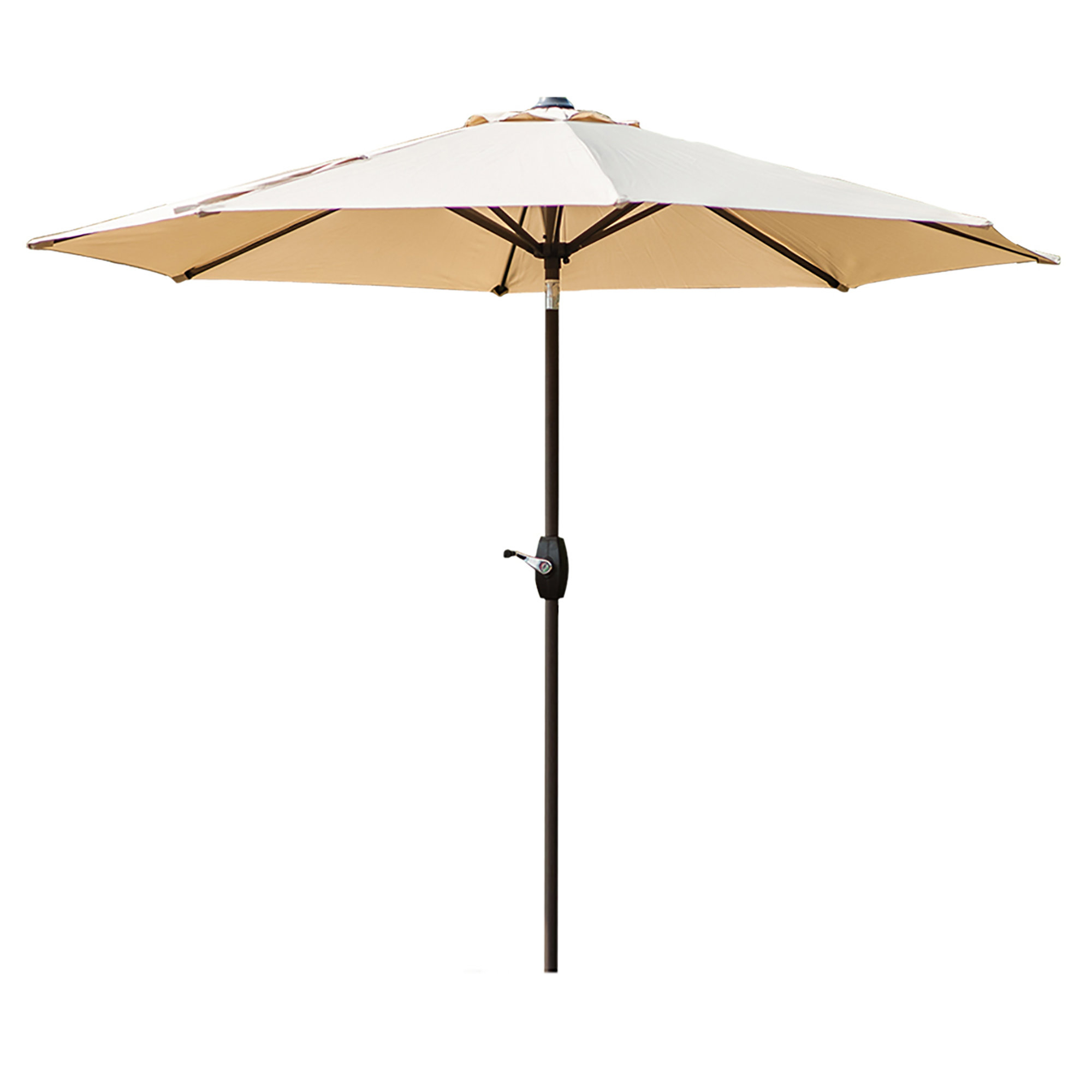 Dade City North Half Market Umbrellas Throughout Current Charlton Home Kenn 9' Market Umbrella (View 11 of 20)