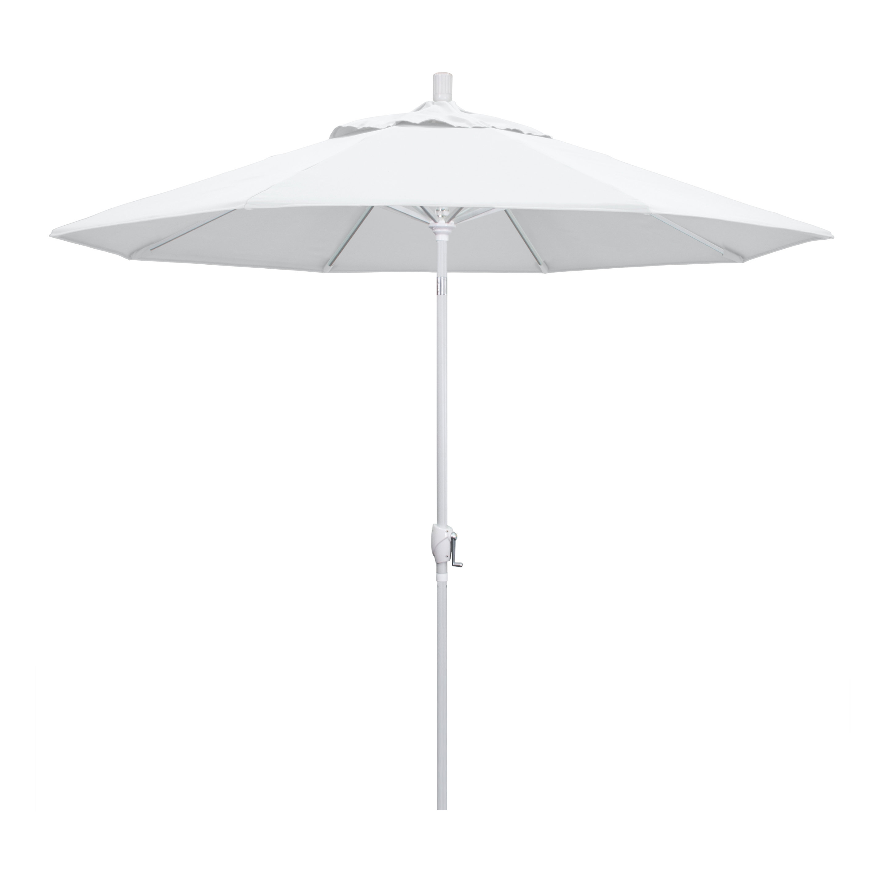 Darby Home Co Wallach 9' Market Umbrella Throughout Most Recently Released Monty Half Market Umbrellas (View 5 of 20)