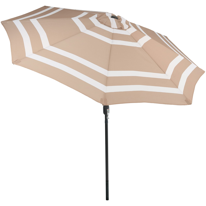Darwen Tiltable Patio Stripe Market Umbrellas Regarding Current Edmonia 9' Market Umbrella (View 9 of 20)