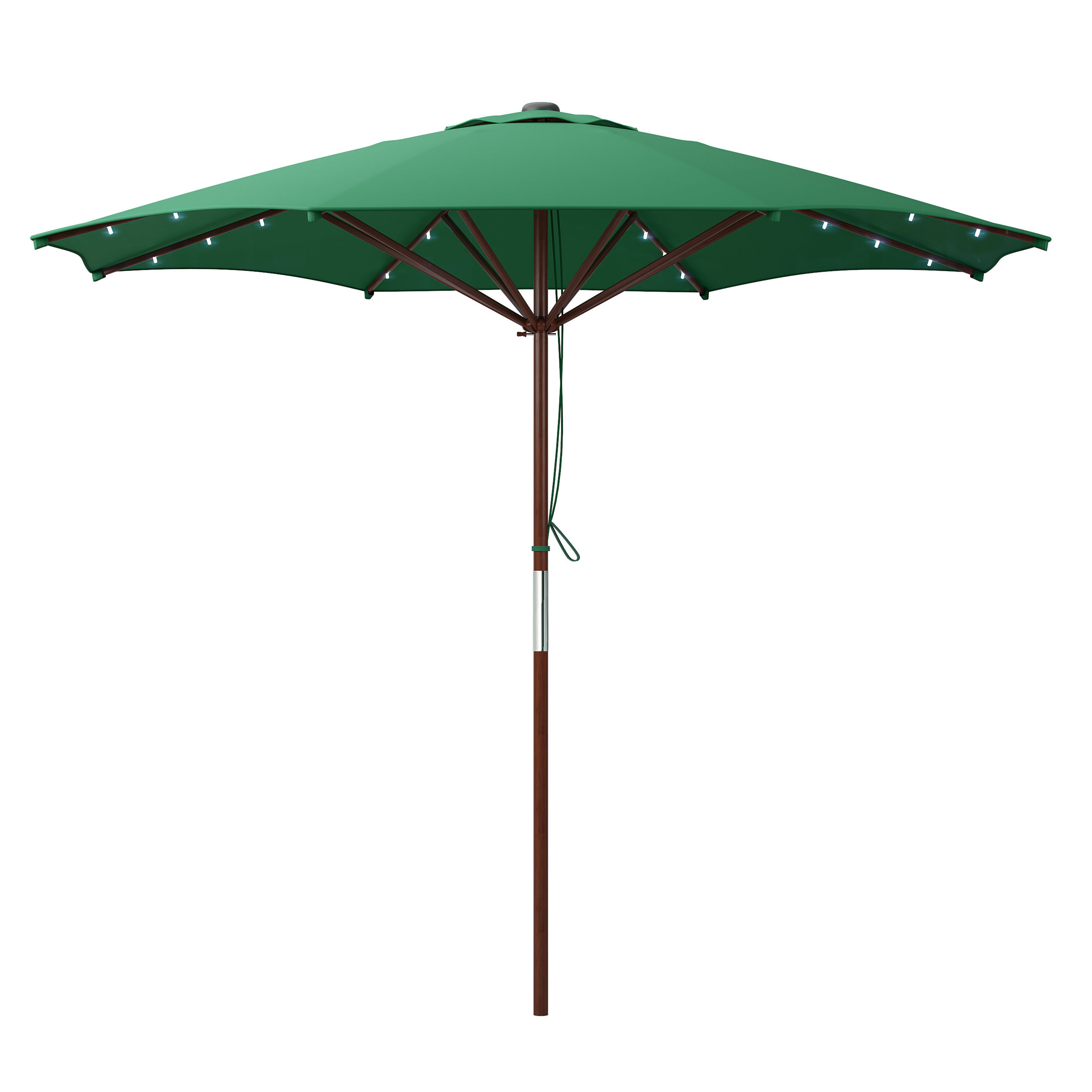 Deforge 9' Illuminated Umbrella Throughout Most Current Winchester Zipcode Design Market Umbrellas (View 14 of 20)