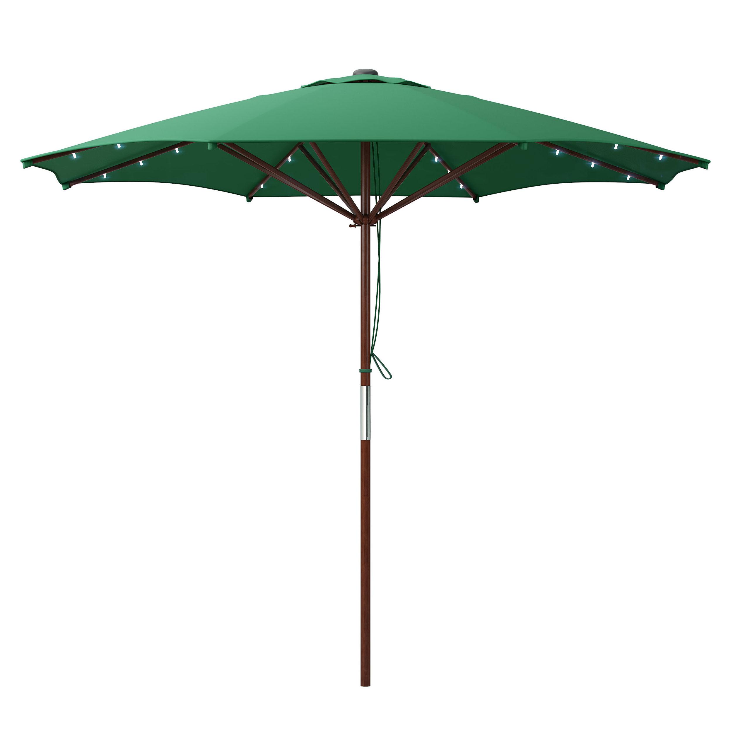 Deforge 9' Illuminated Umbrella Throughout Most Current Winchester Zipcode Design Market Umbrellas (View 4 of 20)