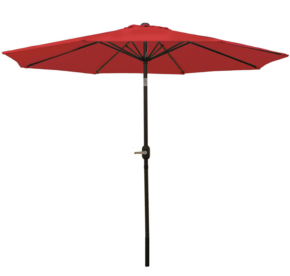 Delaplaine 9' Market Umbrella Intended For Fashionable Winchester Zipcode Design Market Umbrellas (View 5 of 20)