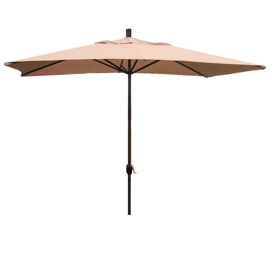 Dena Rectangular Market Umbrellas Intended For 2019 Grieve 10' X 6' Rectangular Market Umbrella (View 8 of 20)