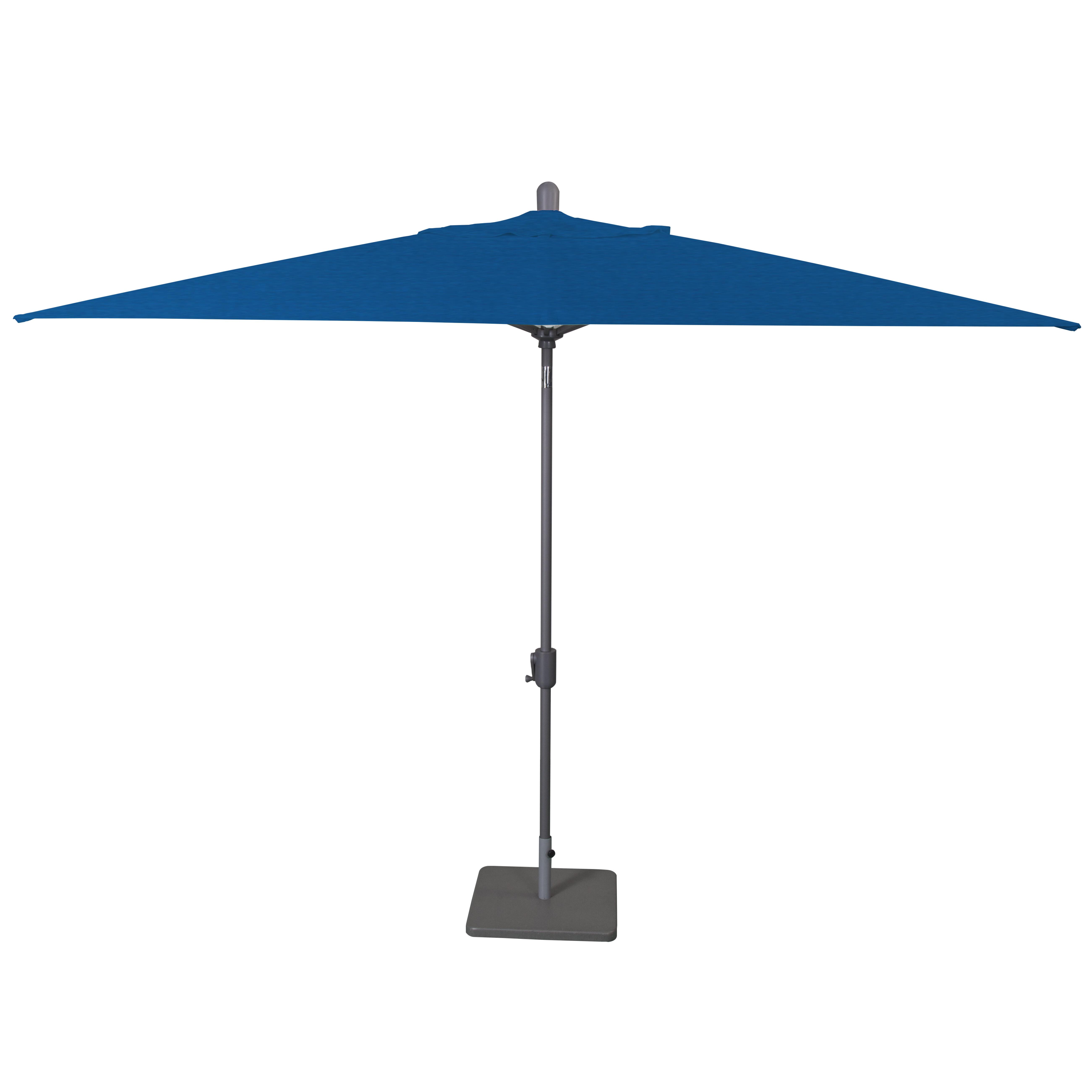 Dena Rectangular Market Umbrellas Intended For Widely Used Wieczorek Auto Tilt 10' X 6.5' Rectangular Market Sunbrella Umbrella (Gallery 16 of 20)