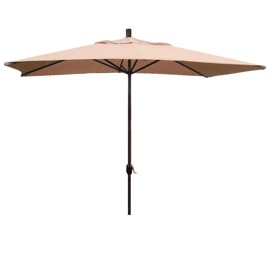 Dena Rectangular Market Umbrellas With Regard To Favorite Grieve 10' X 6' Rectangular Market Umbrella (View 5 of 20)