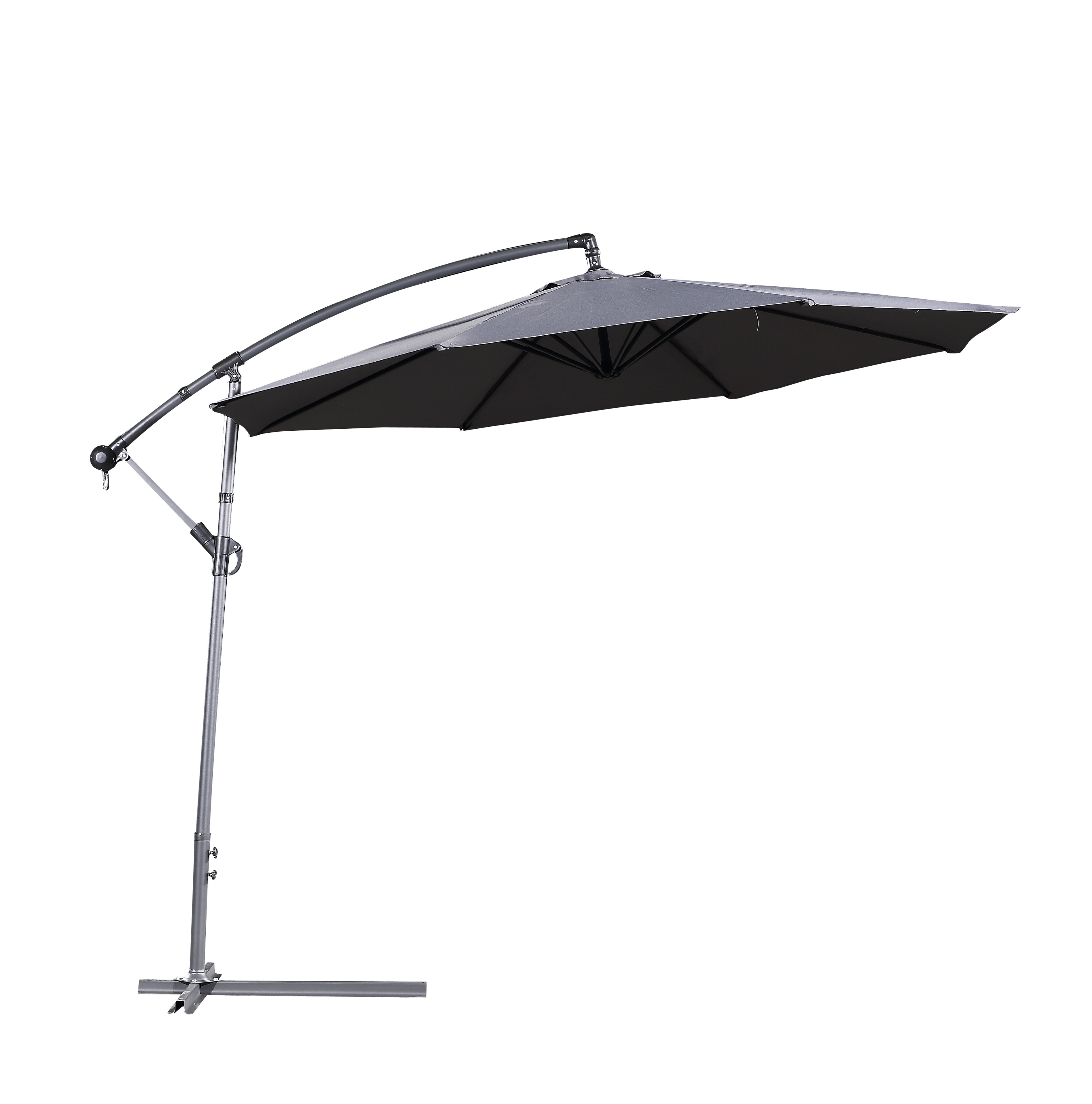 Dore Patio Cantilever Umbrellas Pertaining To Most Up To Date Latitude Run Dore Patio 10' Cantilever Umbrella (View 6 of 20)
