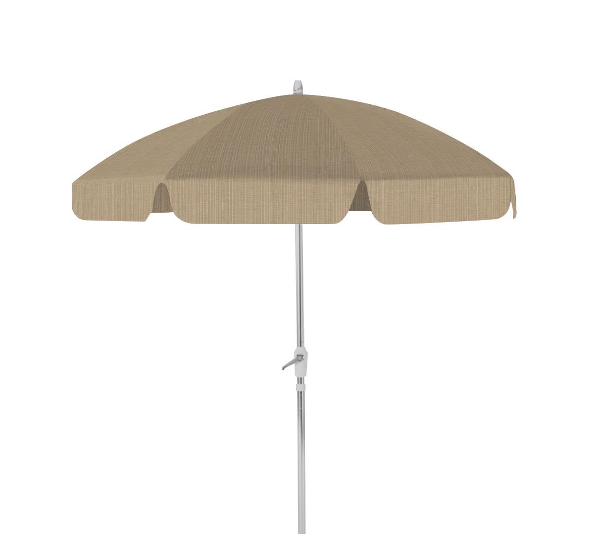 Drape Umbrella 7 1/2' 8 Rib Drape Umbrella With Tilttelescope Casual Intended For Most Current Drape Umbrellas (View 6 of 20)