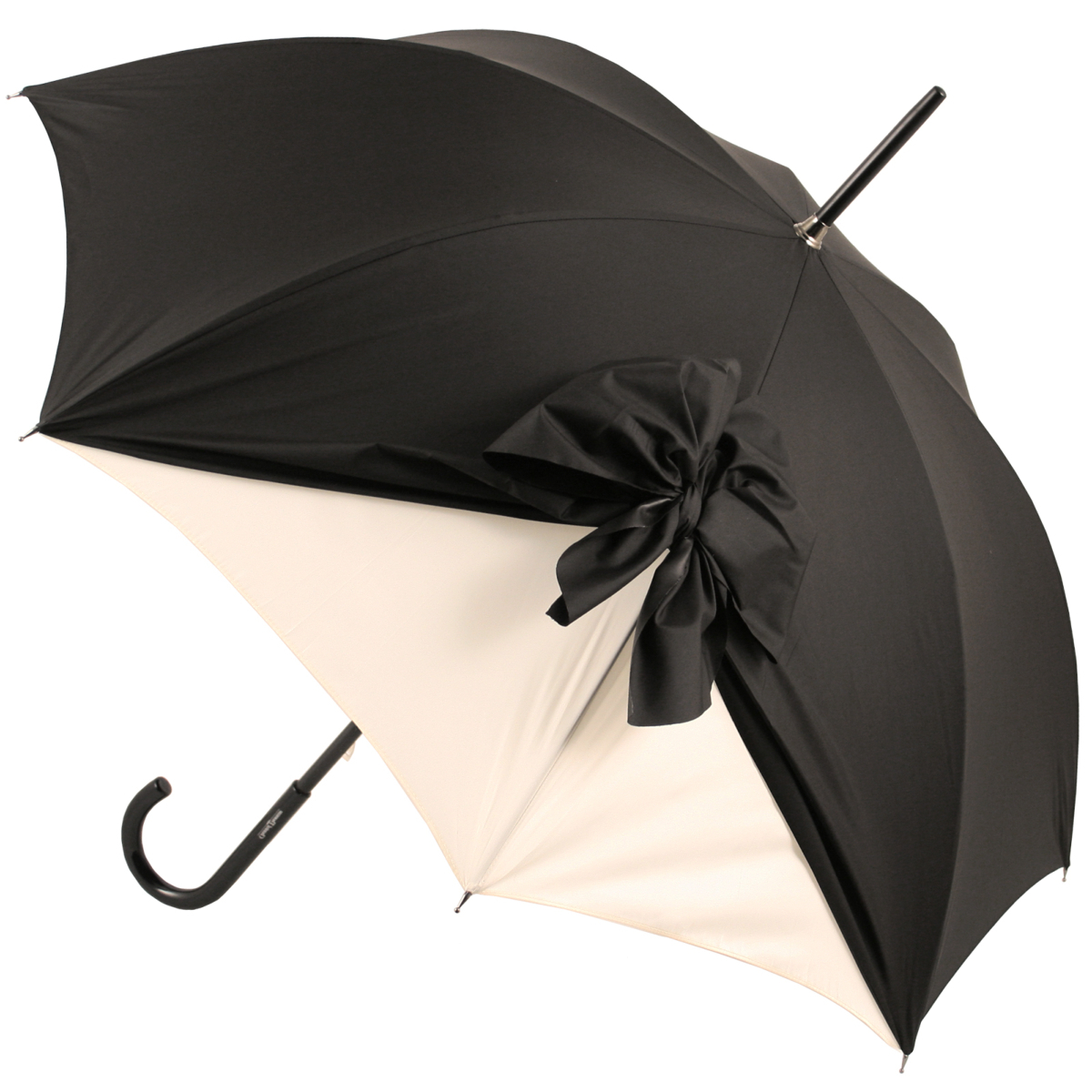 Drape Umbrella In Black And Creamchantal Thomass Throughout Popular Drape Umbrellas (View 6 of 20)