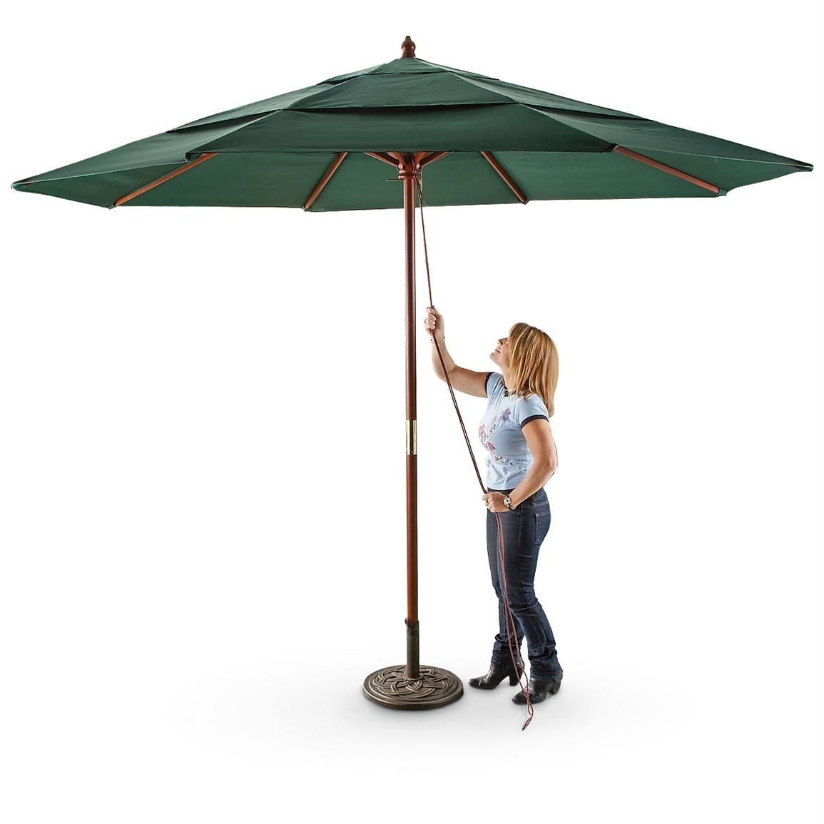 Drape Umbrellas Inside Favorite 20 Best Collection Of Drape Patio Umbrellas (View 10 of 20)
