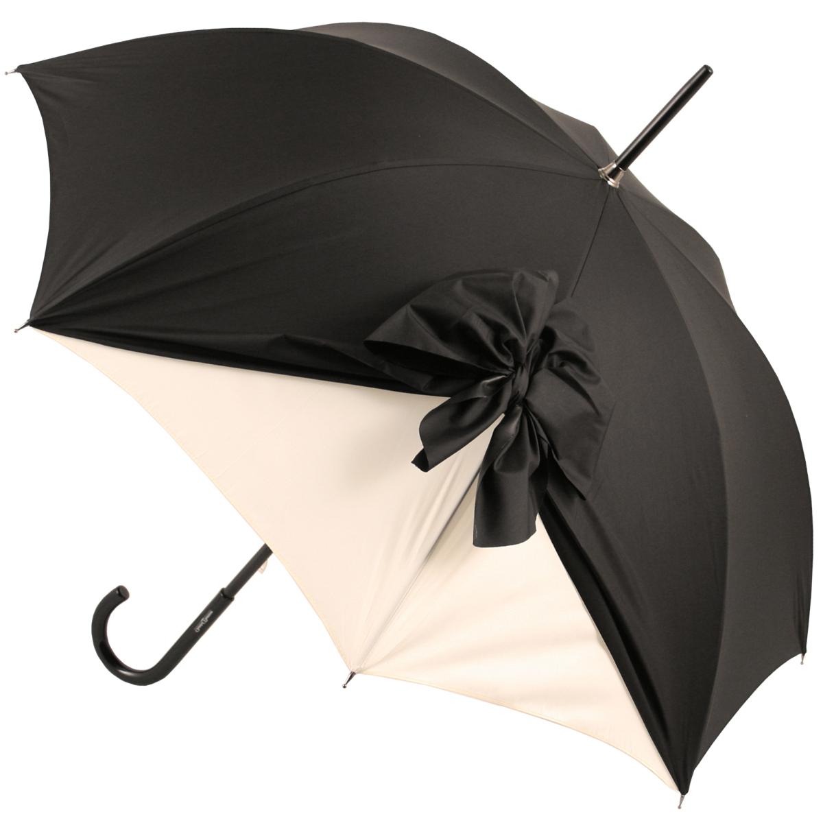 Drape Umbrellas Within Most Recent Drape Umbrella In Black And Creamchantal Thomass (View 15 of 20)