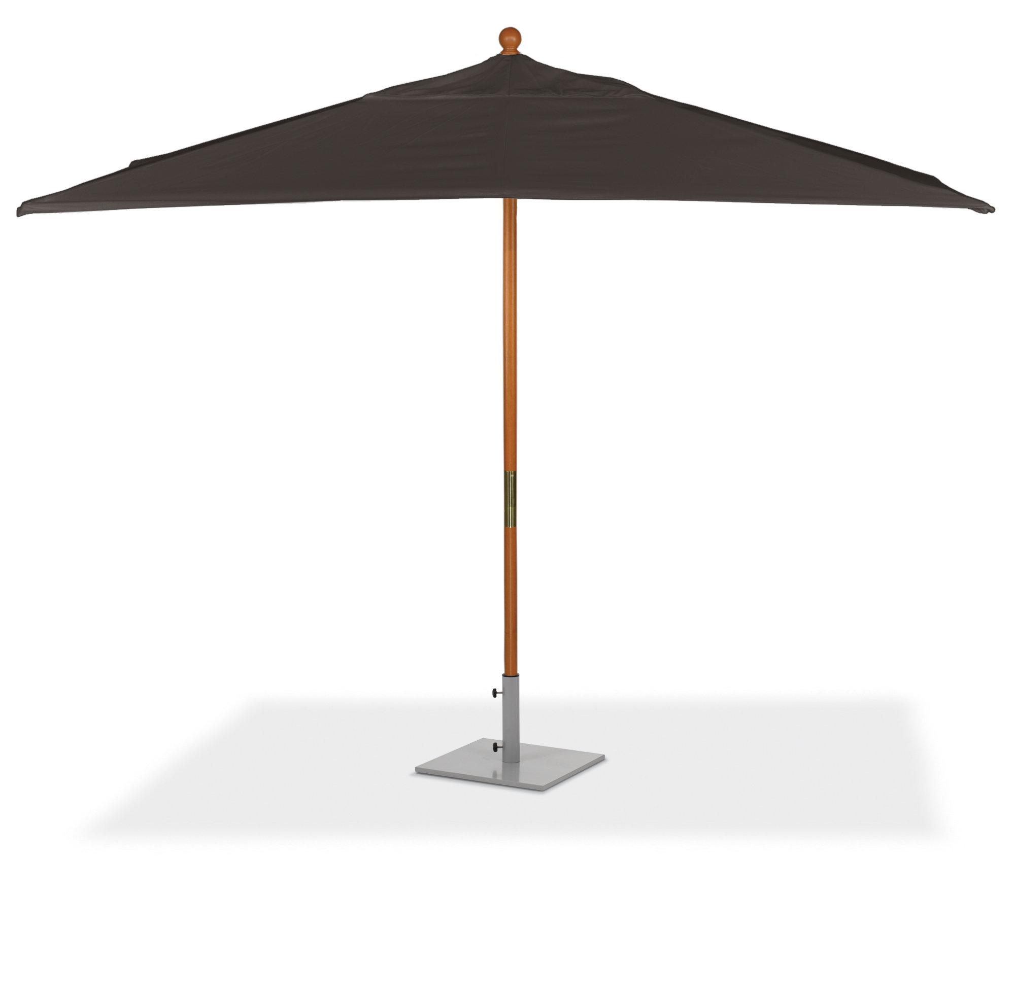 Eisele Rectangular Market Umbrellas In Most Up To Date Standwood 6' X 10' Rectangular Market Sunbrella Umbrella (Gallery 4 of 20)
