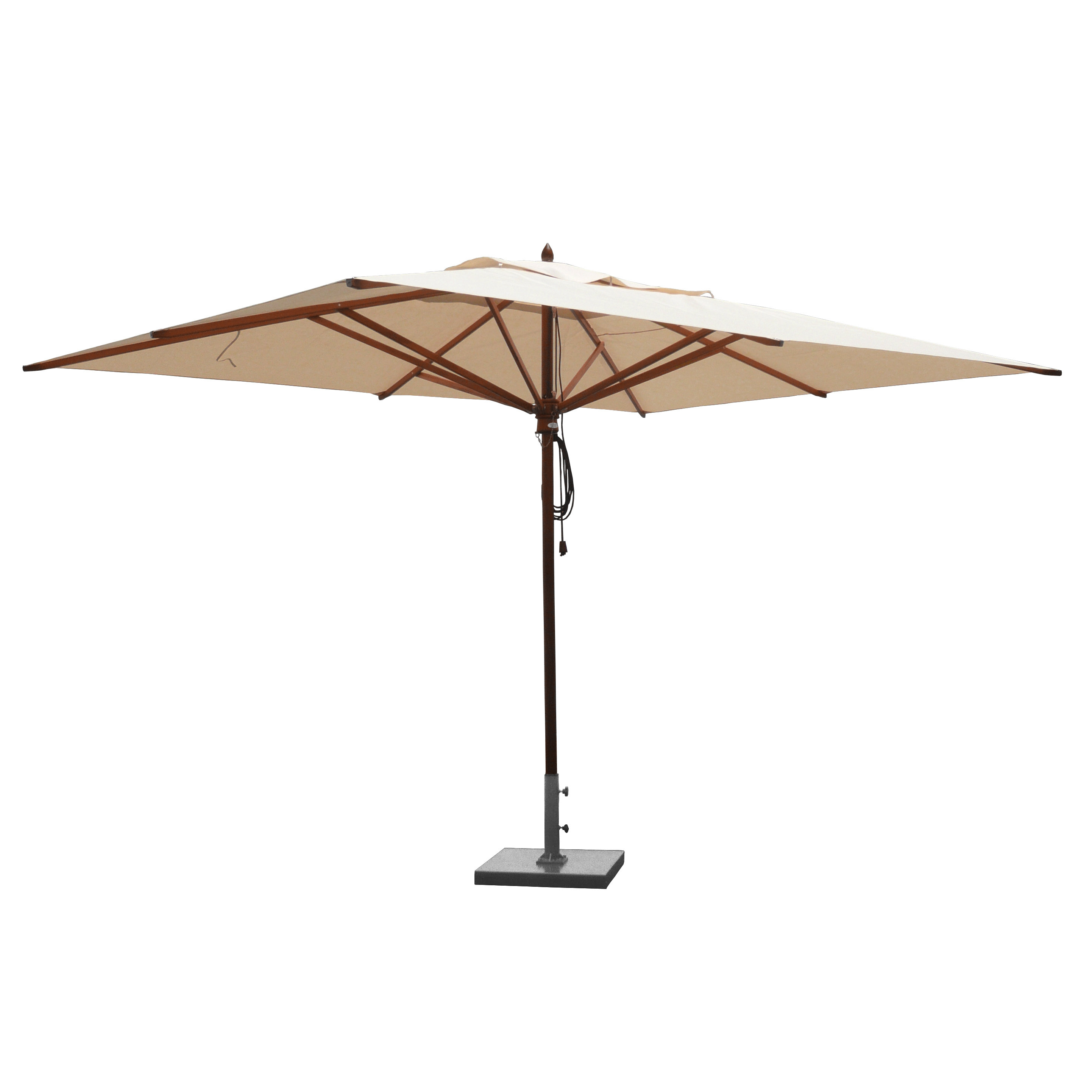 Eisele Rectangular Market Umbrellas With Regard To Best And Newest Sherbourne 10' X 13' Rectangular Market Umbrella (View 17 of 20)