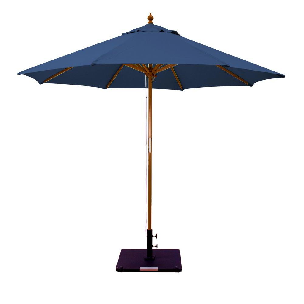 Emely Cantilever Sunbrella Umbrellas Inside Famous Galtech 9 Ft (View 17 of 20)