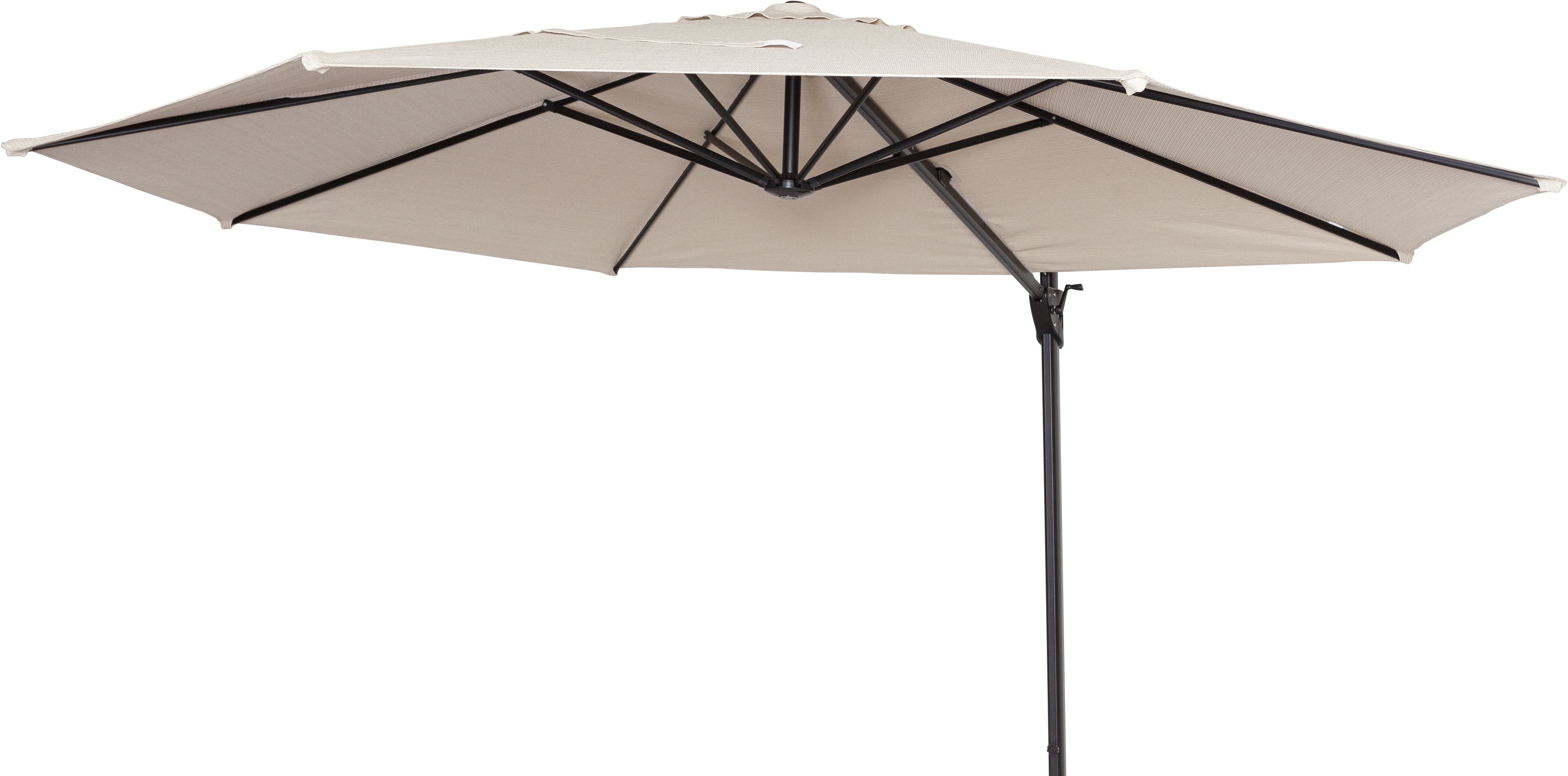Emely Cantilever Sunbrella Umbrellas Within Well Liked Coolaroo 12' Cantilever Umbrella (View 14 of 20)