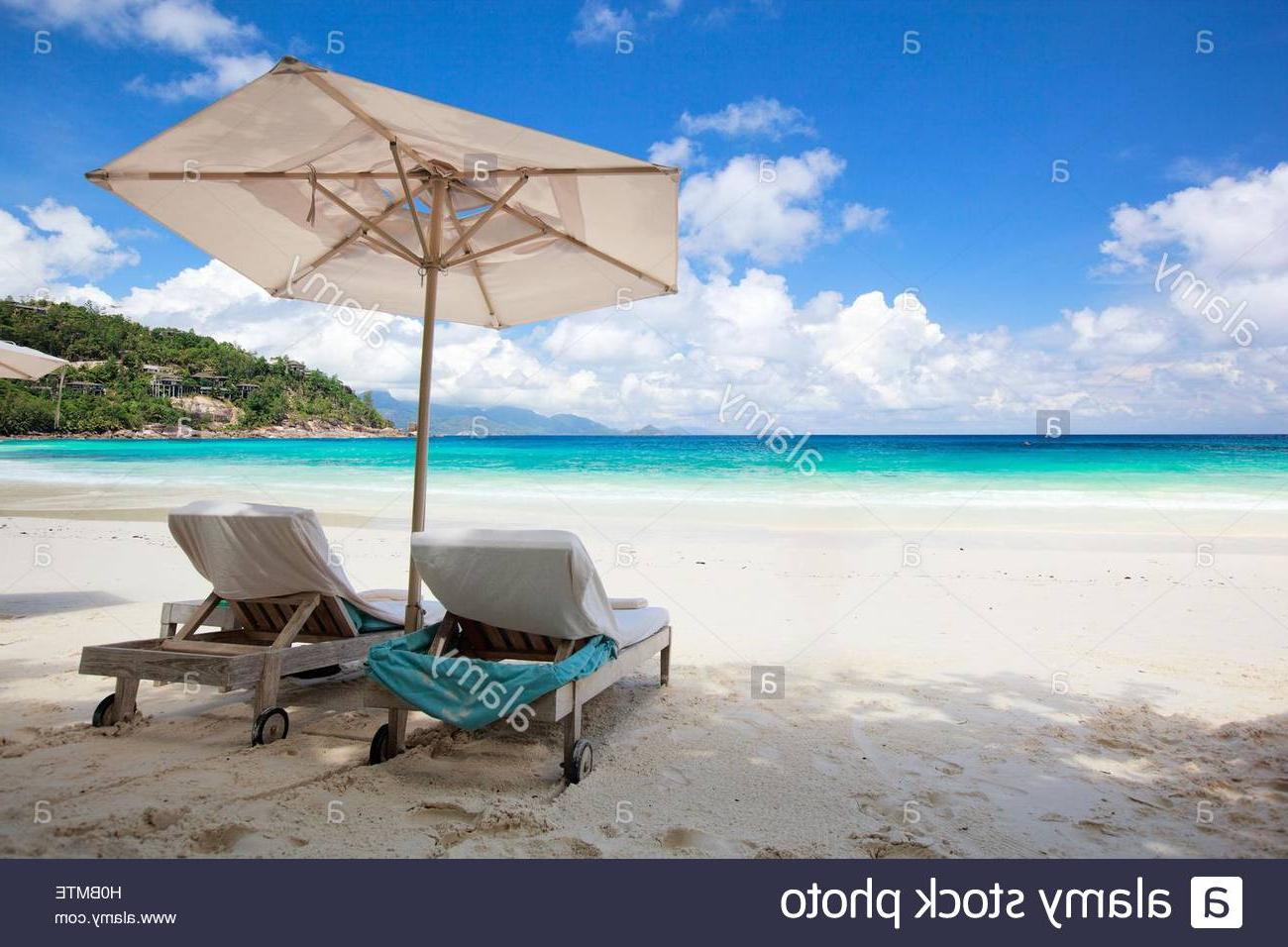Esai Beach Umbrellas Pertaining To Recent Paradies' Stock Photos & Paradies' Stock Images – Page 27 – Alamy (View 18 of 20)