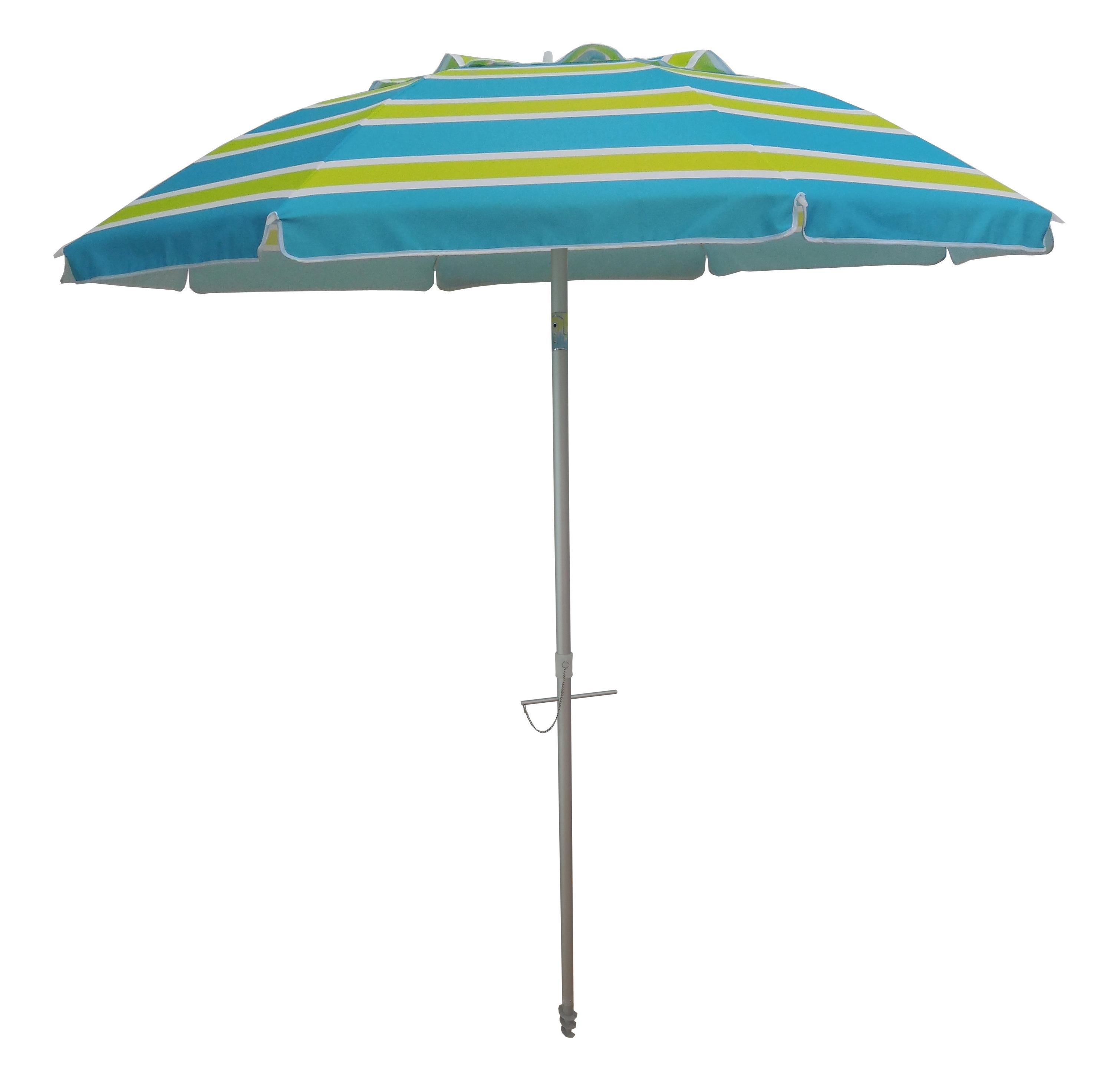 Famous 7' Beach Umbrella Throughout Schroeder Heavy Duty Beach Umbrellas (View 5 of 20)
