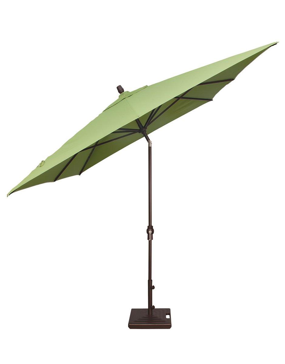 Famous 8' X 10' Rectangular Auto Tilt Umbrella Um8810Rt Swv Intended For Fordwich Rectangular Cantilever Umbrellas (View 9 of 20)