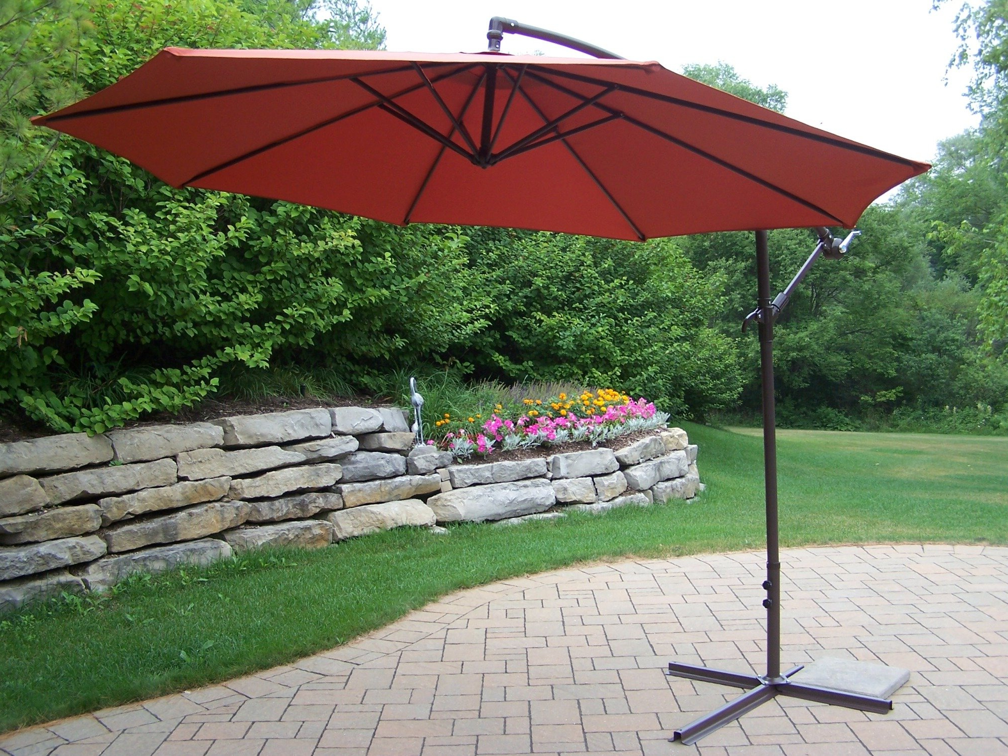 Famous Brecht Lighted Umbrellas Pertaining To Bosch 10' Umbrella (View 10 of 20)