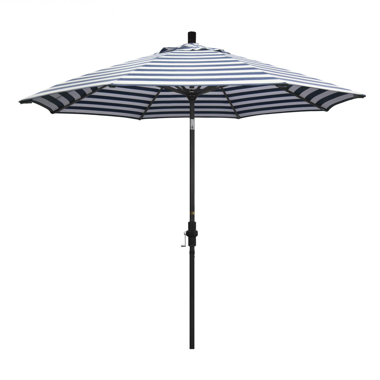 Famous California Umbrella Golden State Series 9 Ft Octagonal Aluminum Intended For Alyssa Freeport Park Market Umbrellas (View 16 of 20)