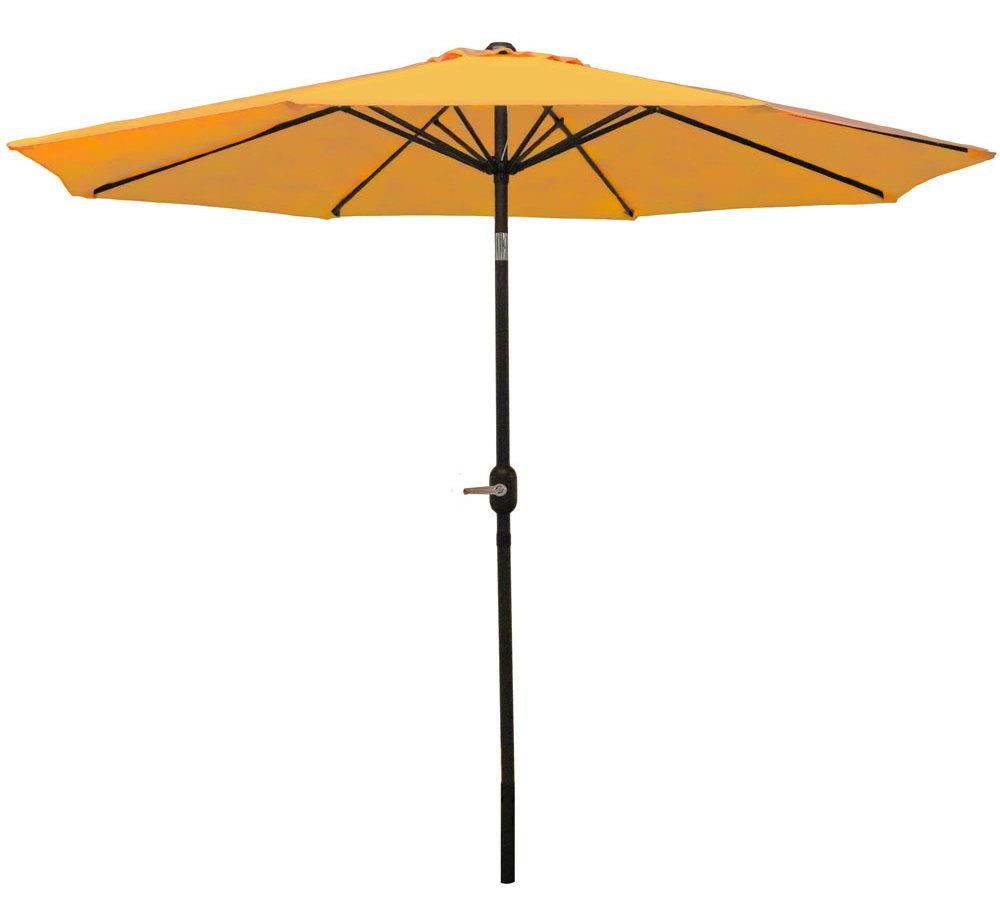 Famous Delaplaine 9' Market Umbrella Inside Kenn Market Umbrellas (View 11 of 20)