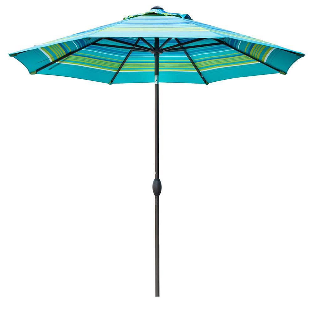 Famous Kedzie Outdoor Cantilever Umbrellas Intended For Turquoise Umbrella Outdoor – Caldwellcountytxoem (View 13 of 20)